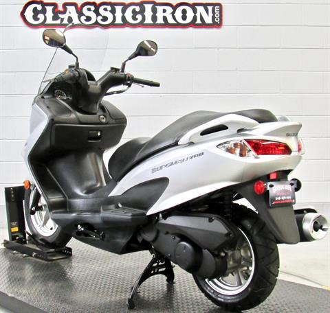 2014 Suzuki Burgman™ 200 ABS in Fredericksburg, Virginia - Photo 6