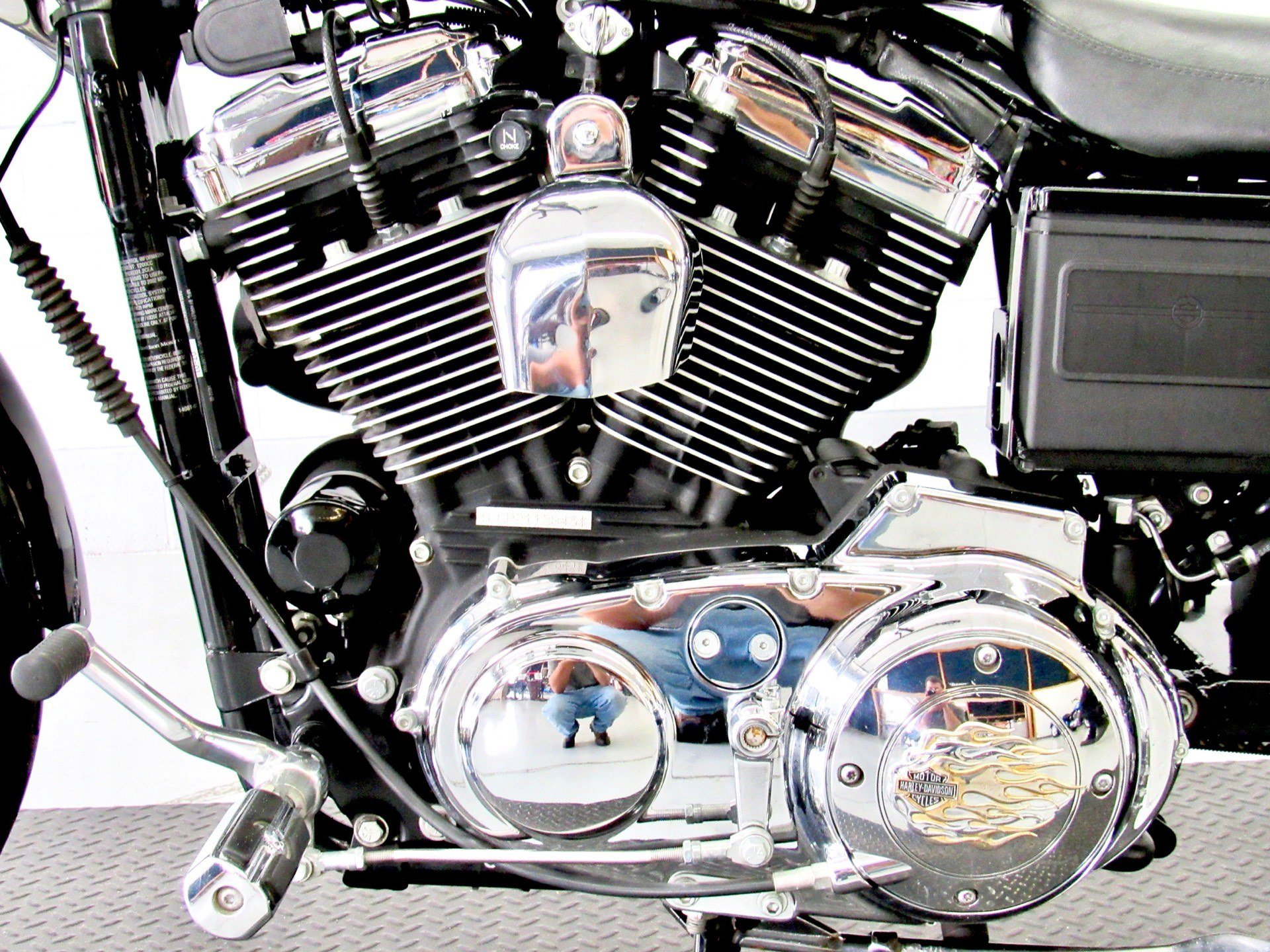 2002 Harley-Davidson XL 1200C Sportster® 1200 Custom in Fredericksburg, Virginia - Photo 19