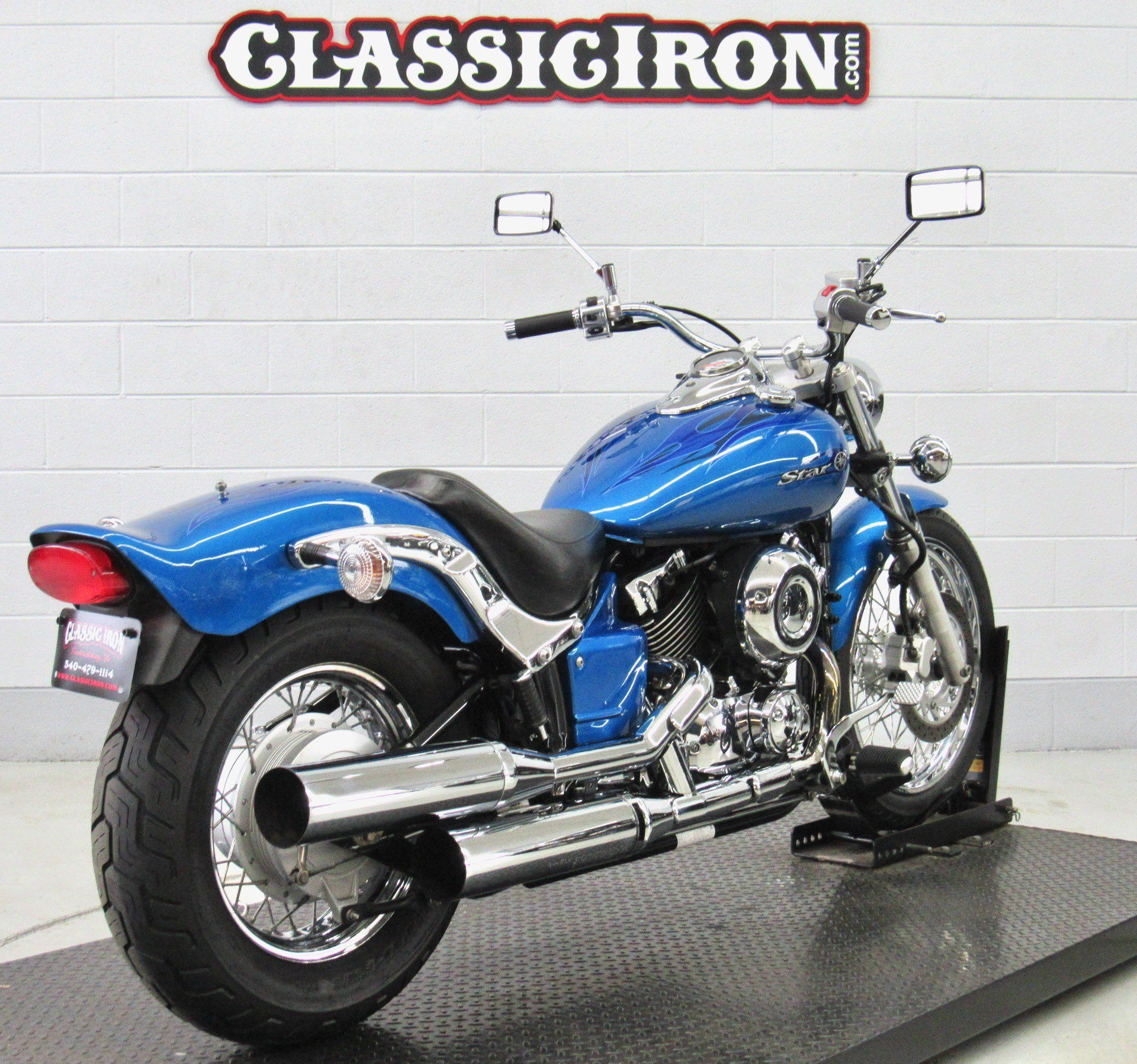 2009 Yamaha V Star 650 Custom in Fredericksburg, Virginia - Photo 5