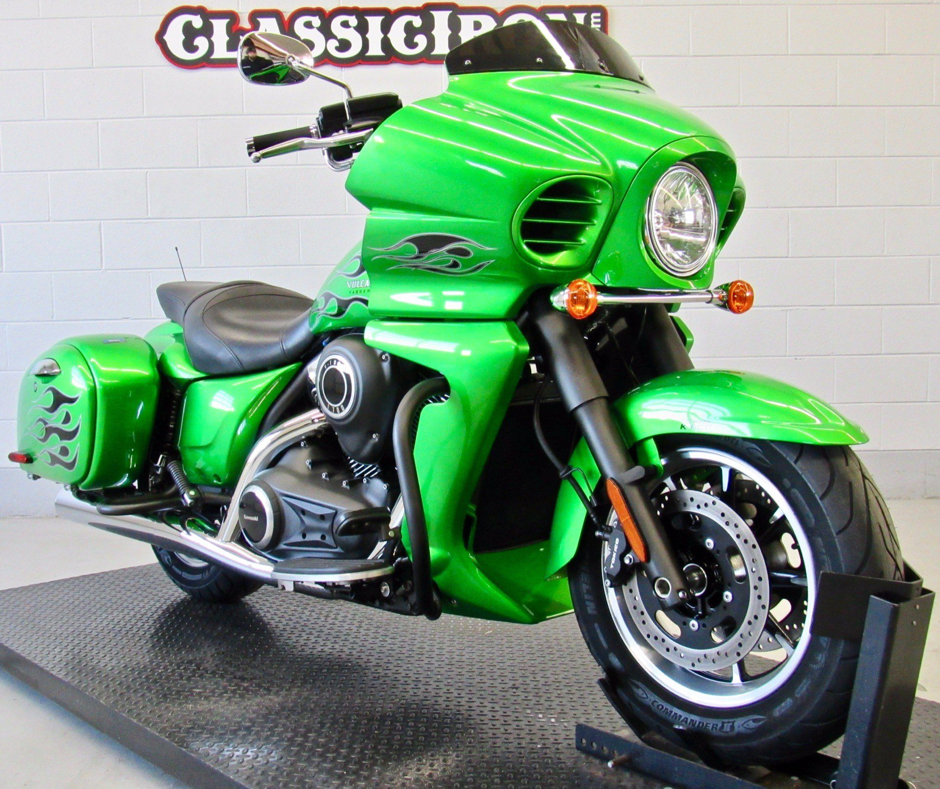 2015 Kawasaki Vulcan® 1700 Vaquero® ABS in Fredericksburg, Virginia - Photo 2