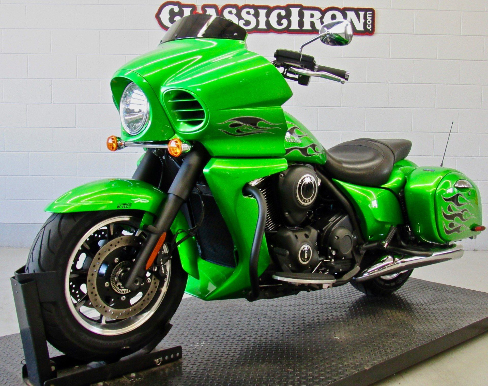 2015 Kawasaki Vulcan® 1700 Vaquero® ABS in Fredericksburg, Virginia - Photo 3