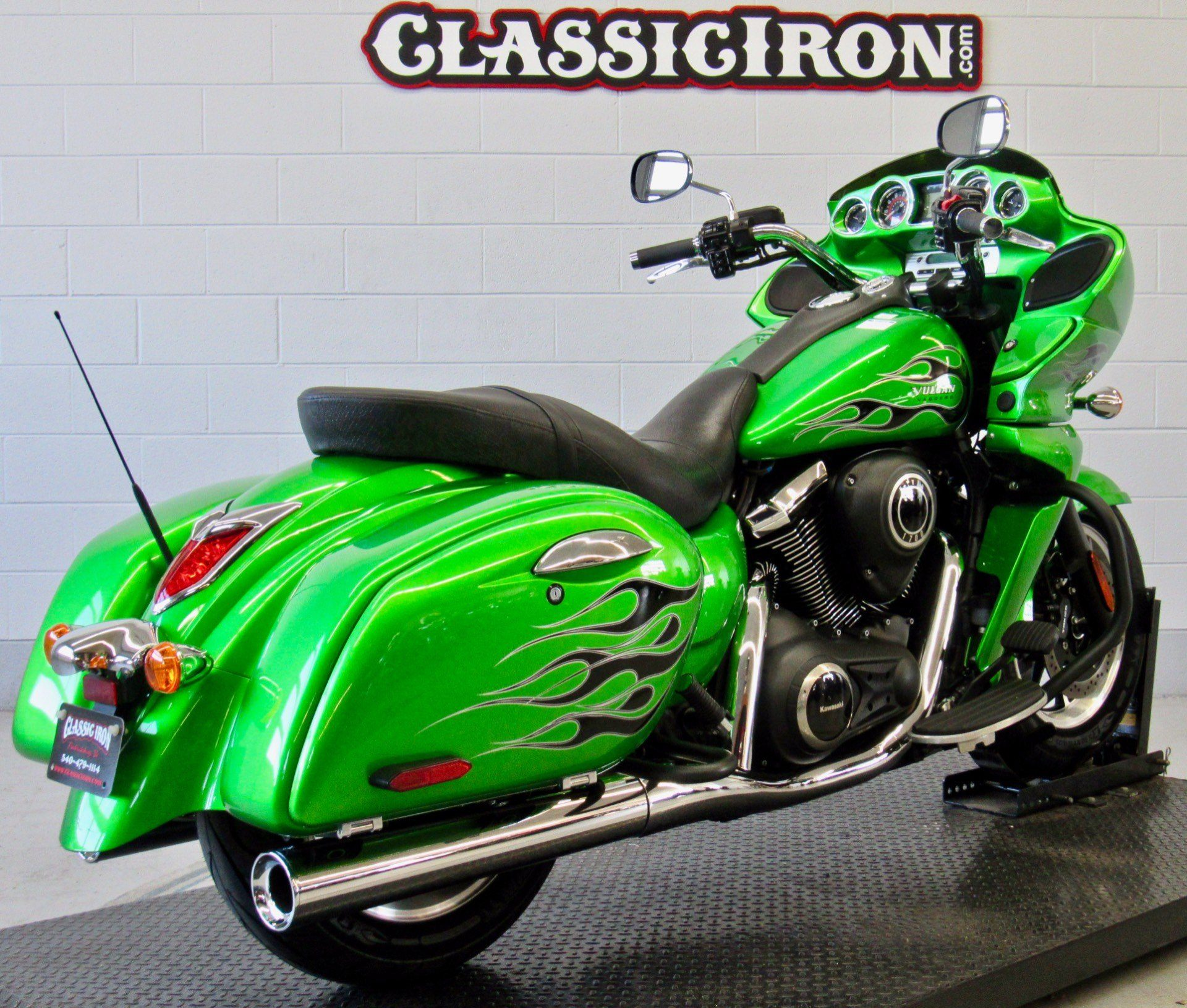 2015 Kawasaki Vulcan® 1700 Vaquero® ABS in Fredericksburg, Virginia - Photo 5