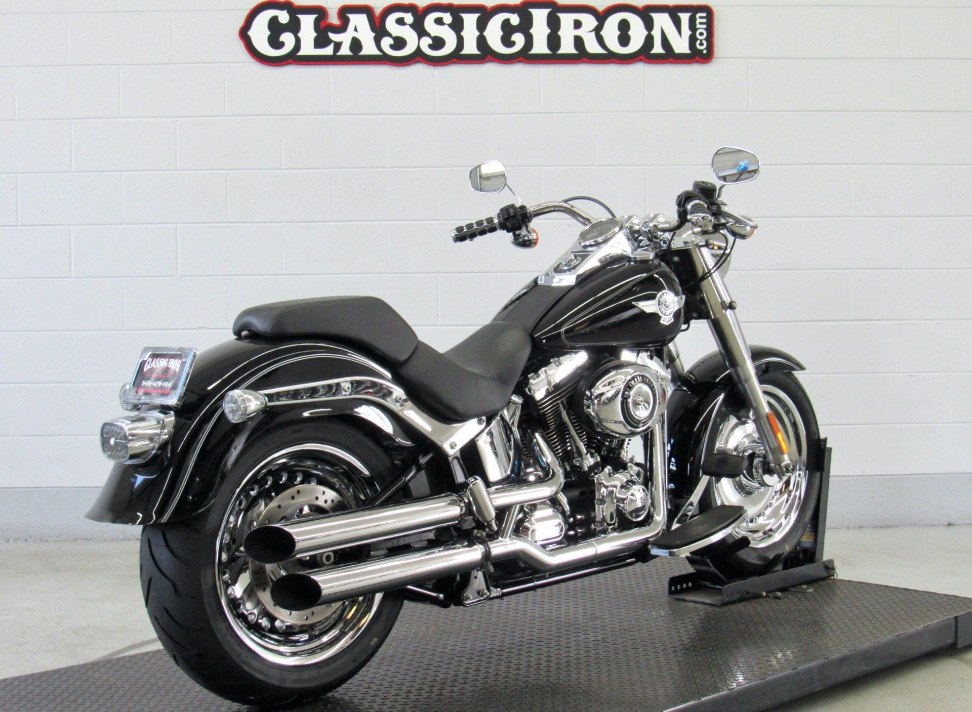 2012 Harley-Davidson Softail® Fat Boy® in Fredericksburg, Virginia - Photo 6