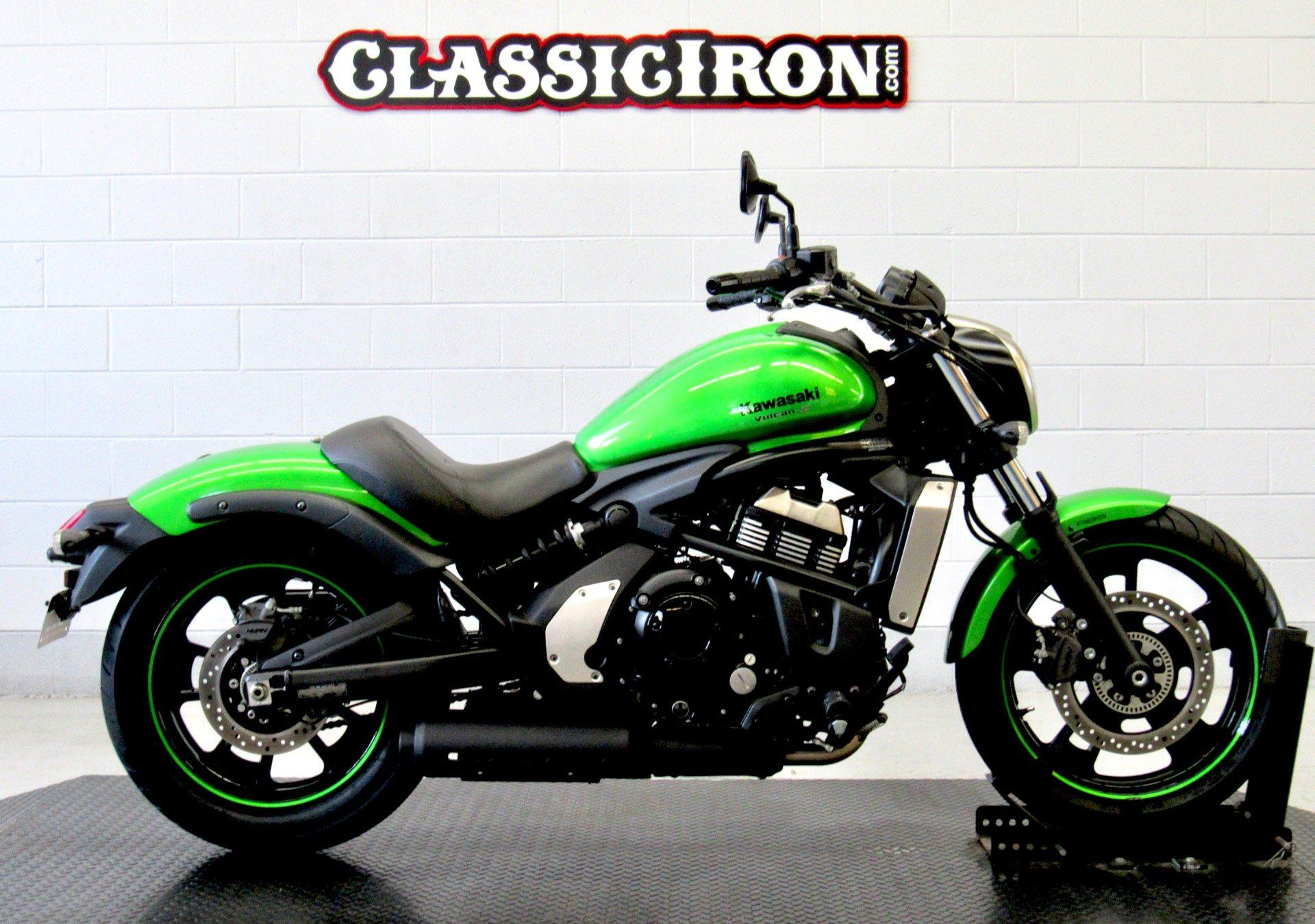 2015 Kawasaki Vulcan® S ABS in Fredericksburg, Virginia - Photo 1