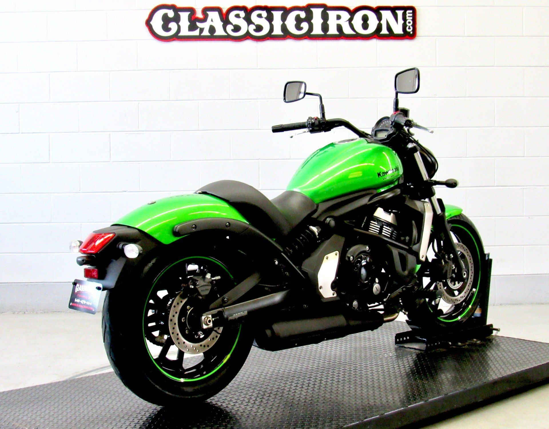 2015 Kawasaki Vulcan® S ABS in Fredericksburg, Virginia - Photo 5