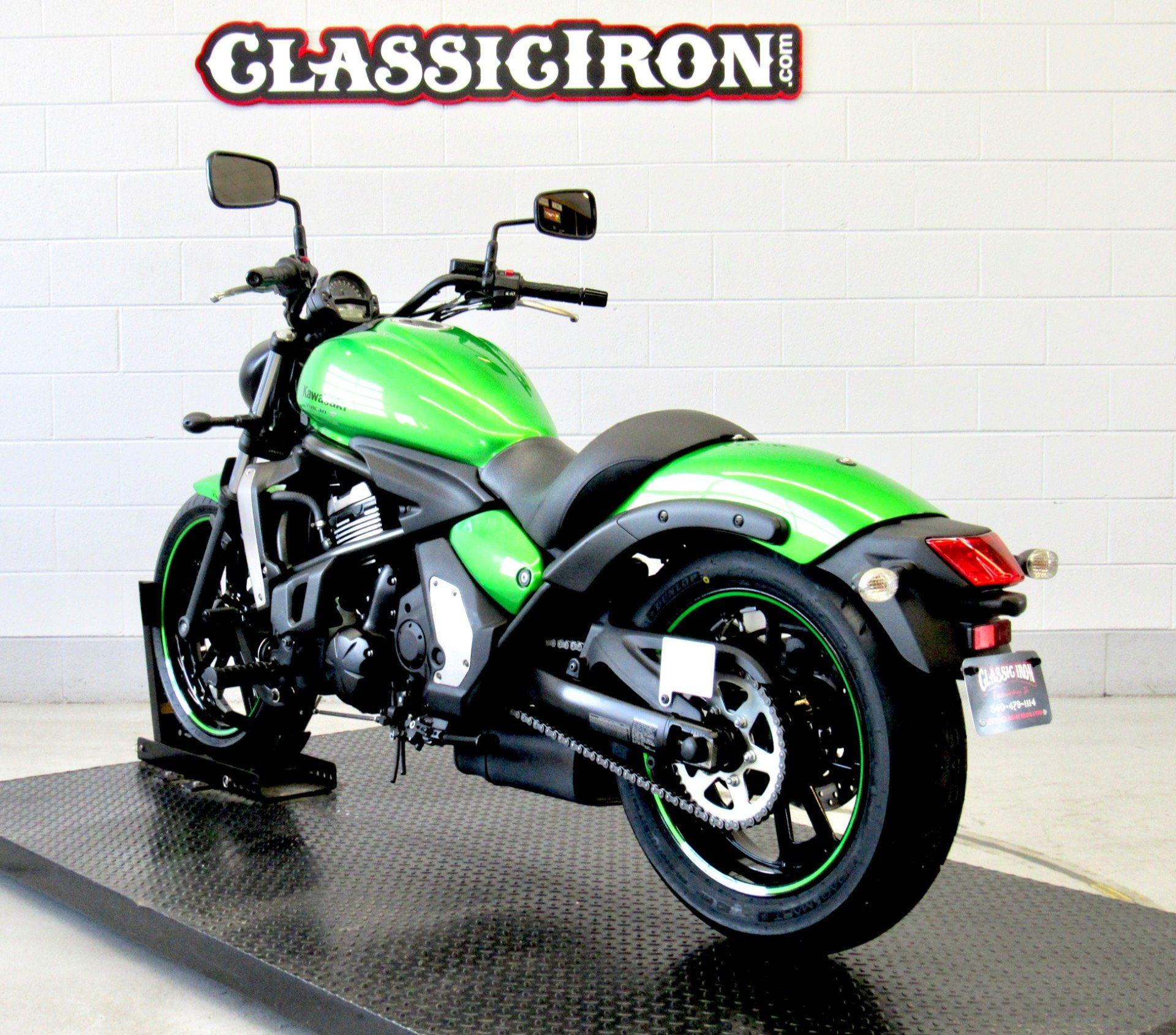 2015 Kawasaki Vulcan® S ABS in Fredericksburg, Virginia - Photo 6