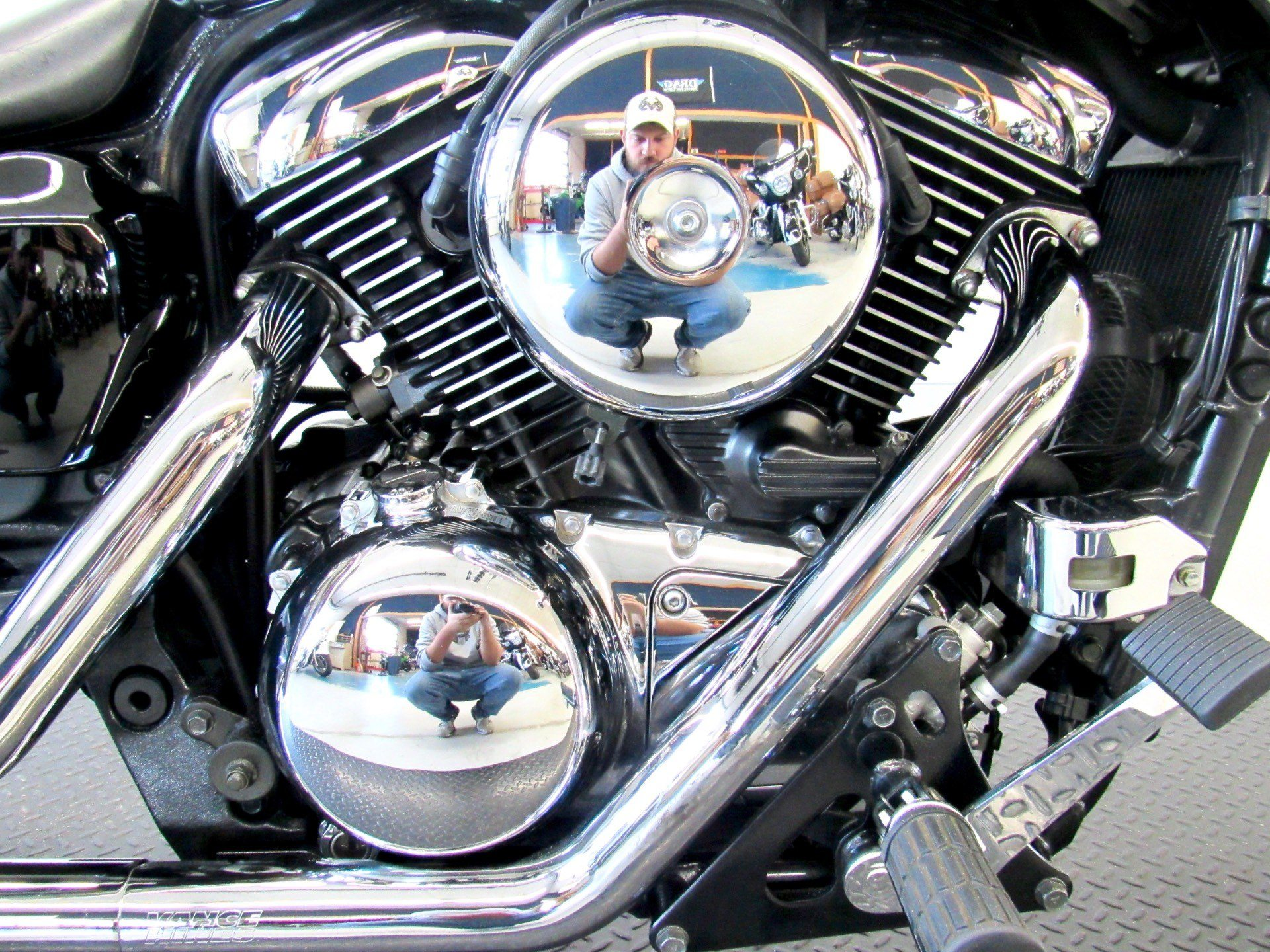 2007 Kawasaki Vulcan® 1600 Mean Streak® in Fredericksburg, Virginia - Photo 14