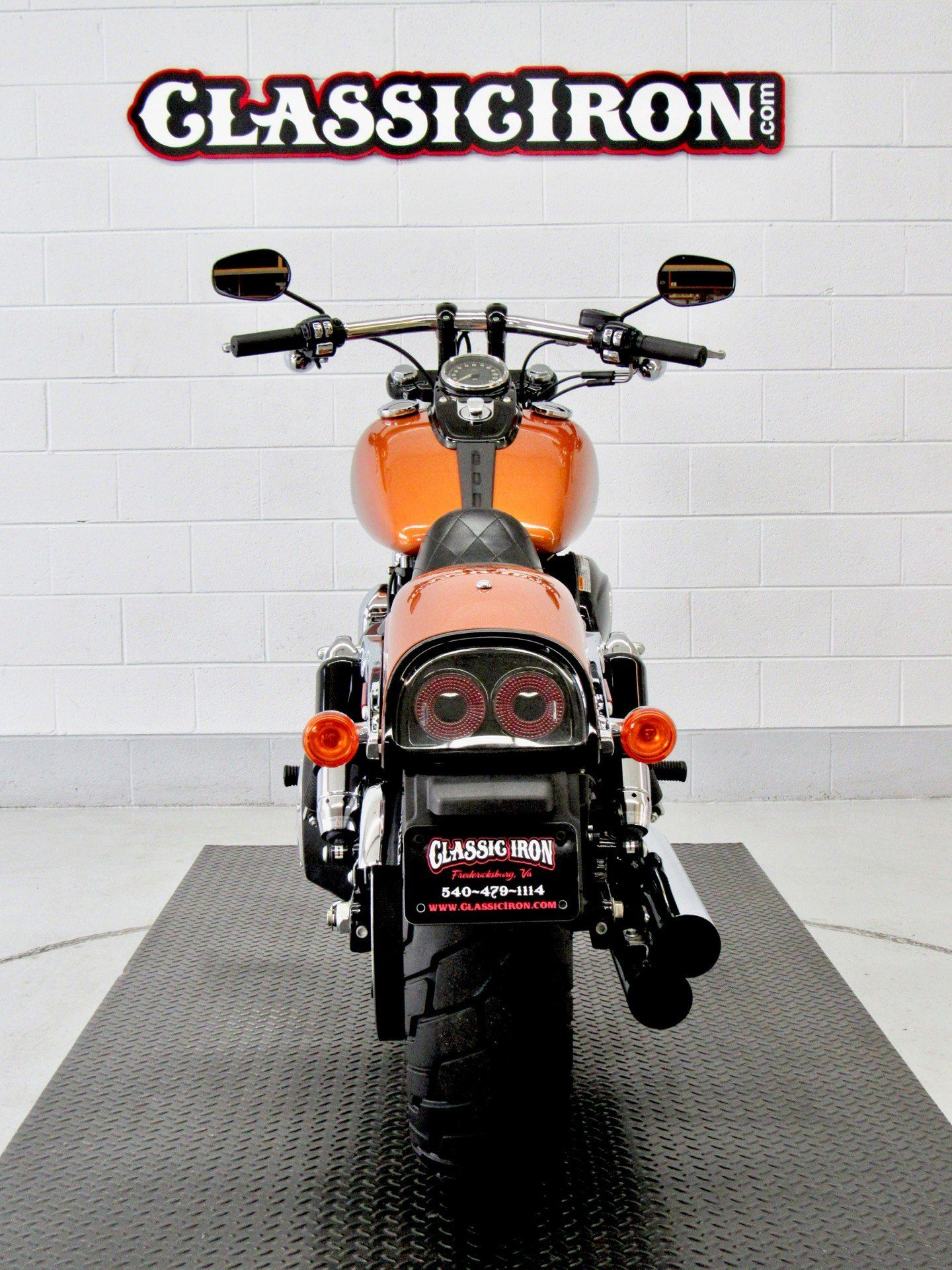2014 Harley-Davidson Dyna® Fat Bob® in Fredericksburg, Virginia - Photo 9