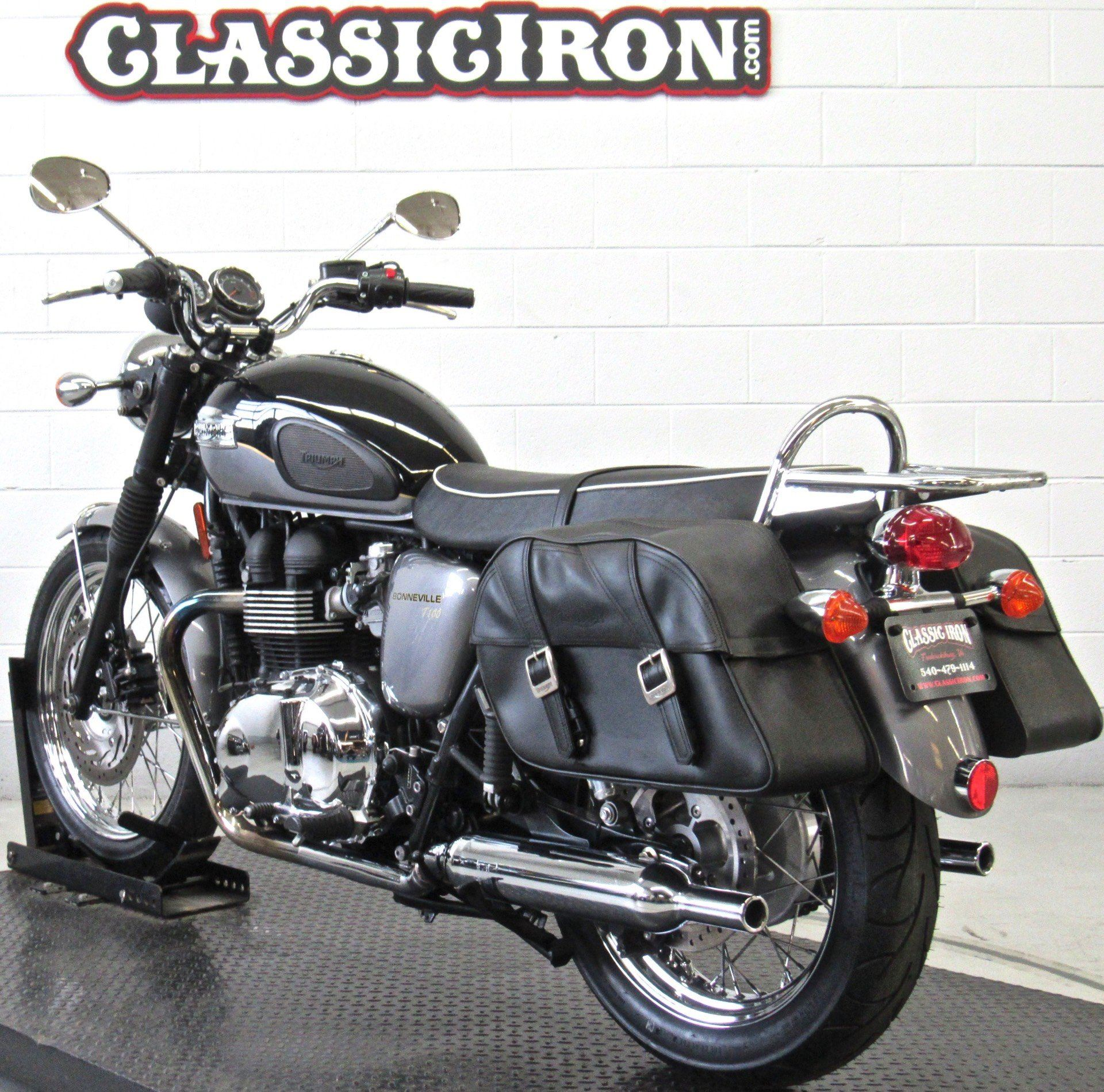 2013 Triumph Bonneville T100 in Fredericksburg, Virginia