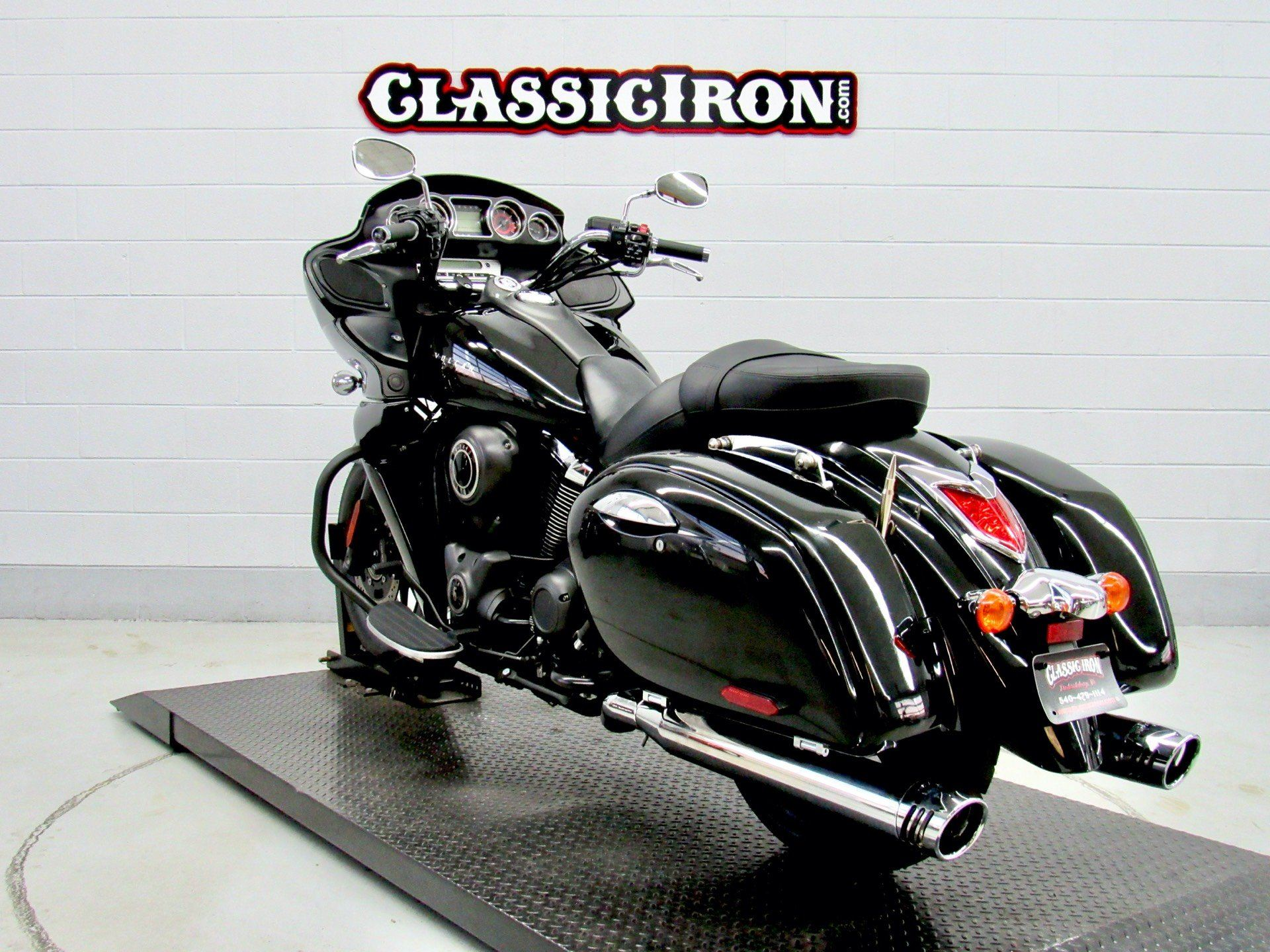 2014 Kawasaki Vulcan® 1700 Vaquero® ABS in Fredericksburg, Virginia - Photo 6