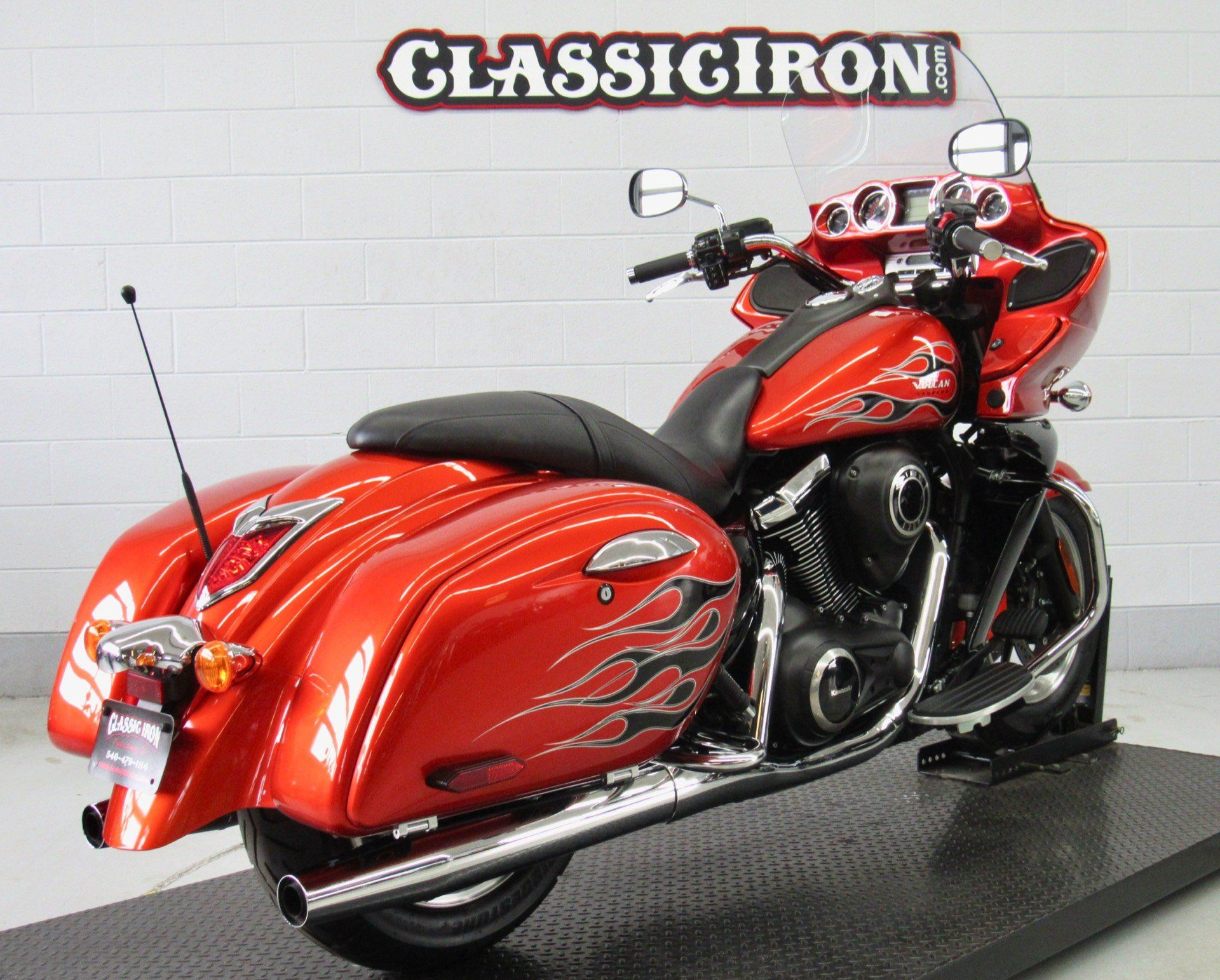 2014 Kawasaki Vulcan® 1700 Vaquero® ABS SE in Fredericksburg, Virginia - Photo 6