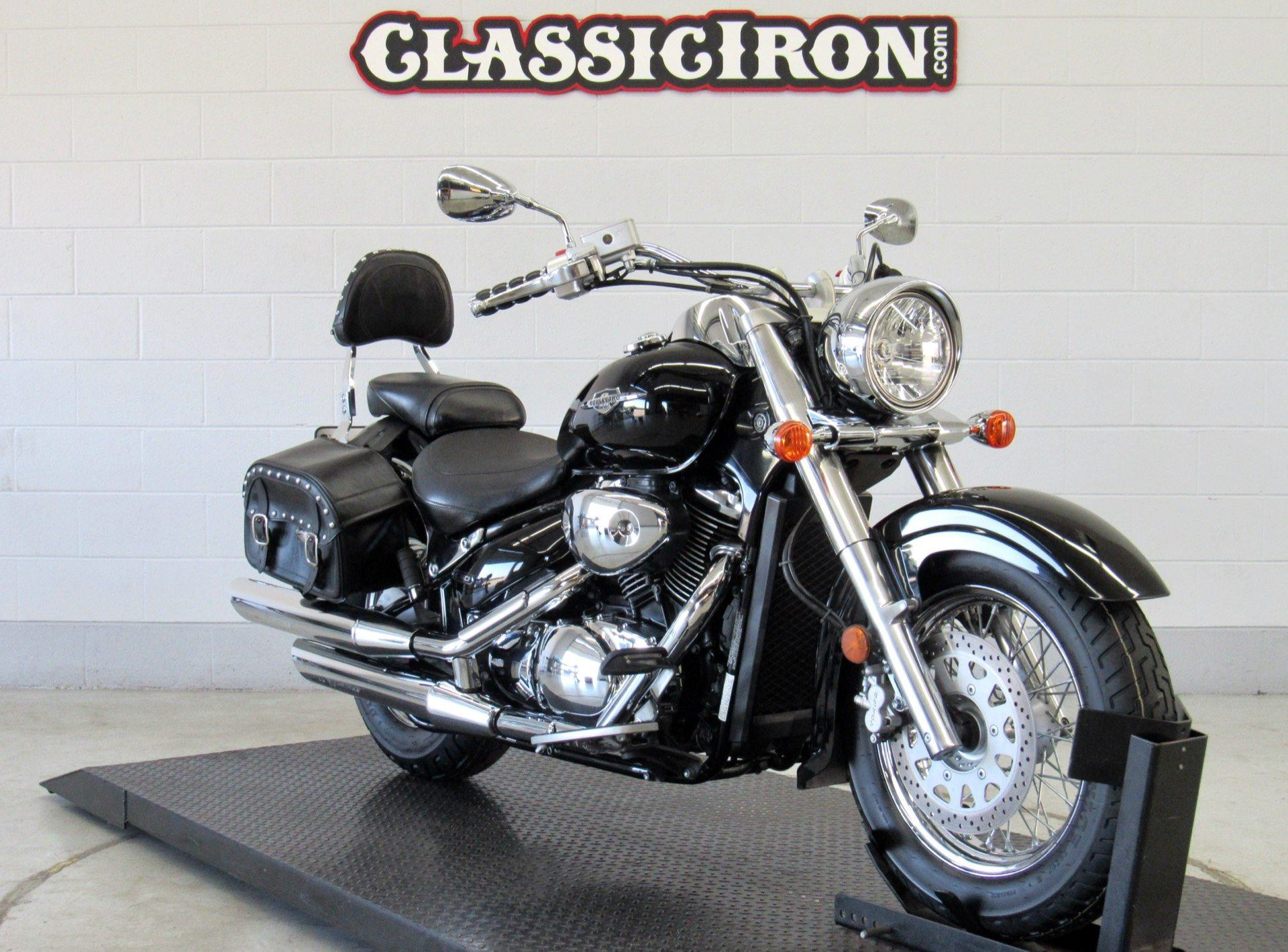 2008 Suzuki Boulevard C50 Black in Fredericksburg, Virginia - Photo 2