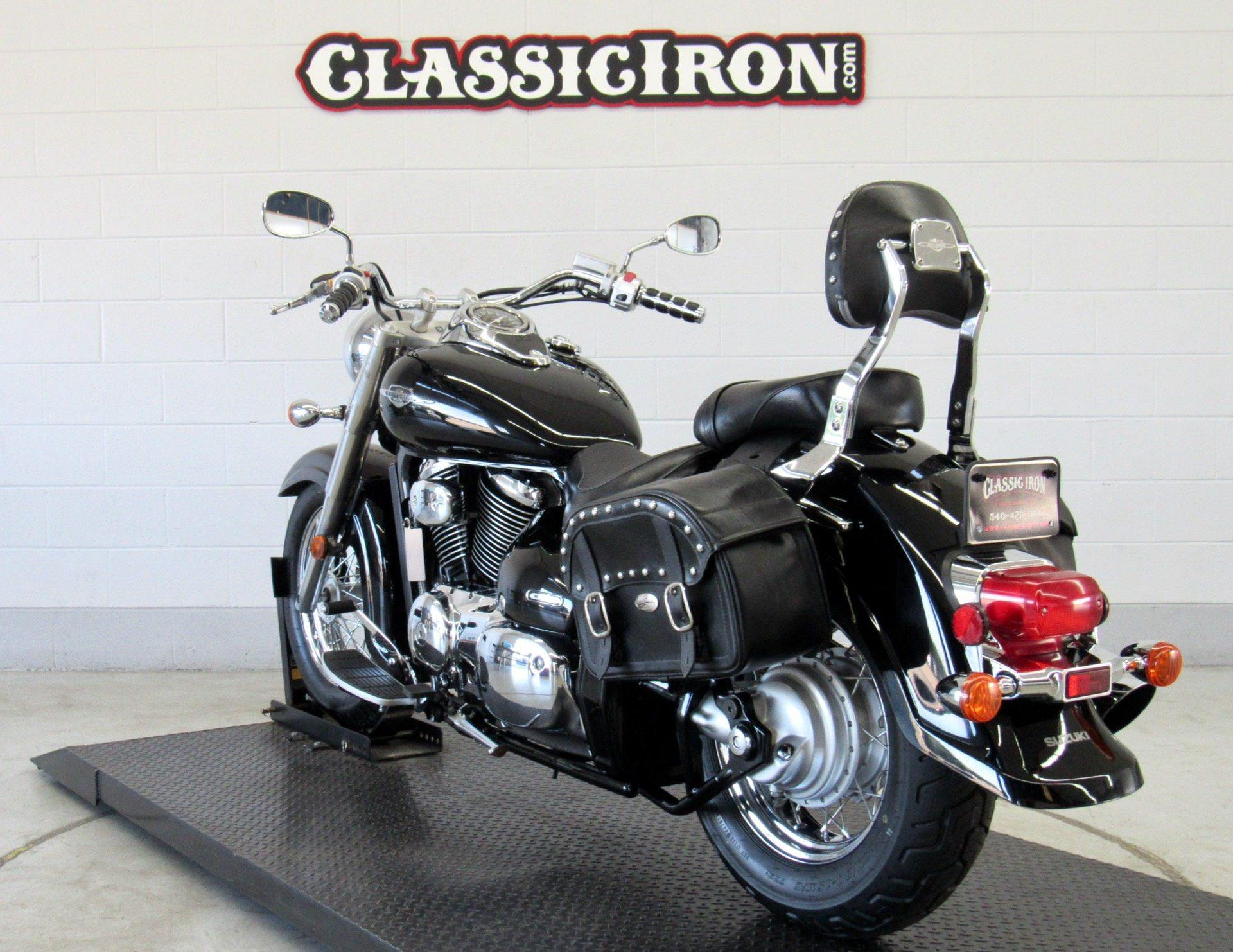 2008 Suzuki Boulevard C50 Black in Fredericksburg, Virginia - Photo 5