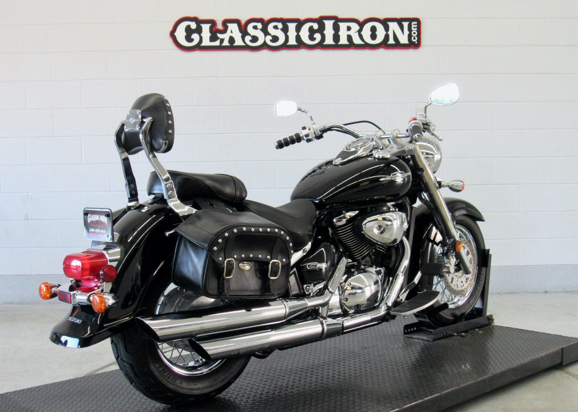 2008 Suzuki Boulevard C50 Black in Fredericksburg, Virginia - Photo 6