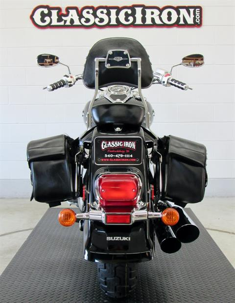 2008 Suzuki Boulevard C50 Black in Fredericksburg, Virginia - Photo 9