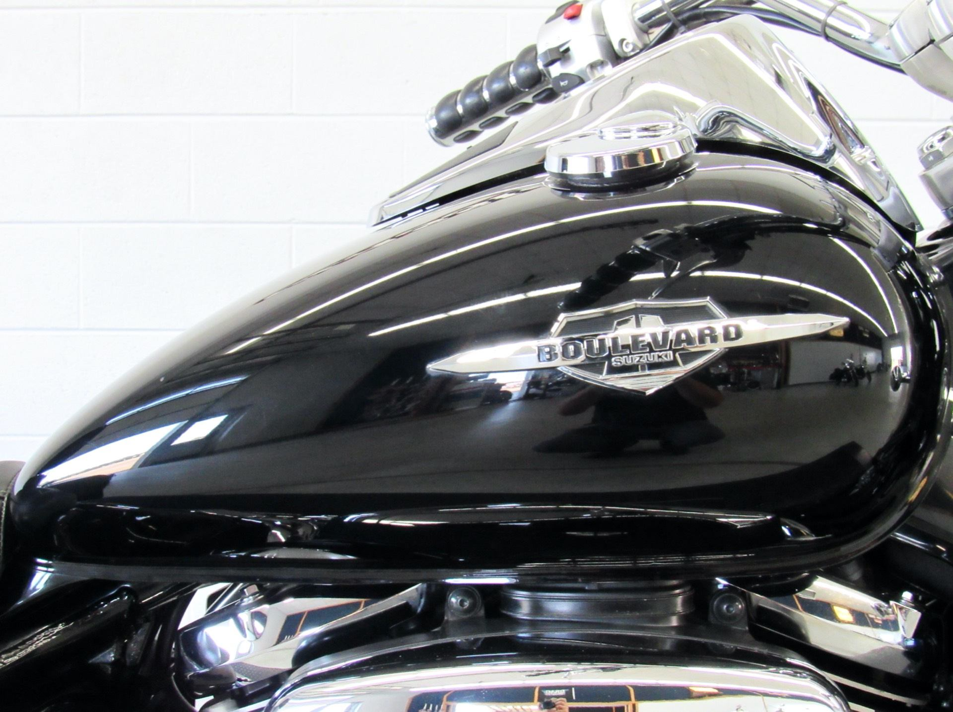 2008 Suzuki Boulevard C50 Black in Fredericksburg, Virginia - Photo 13