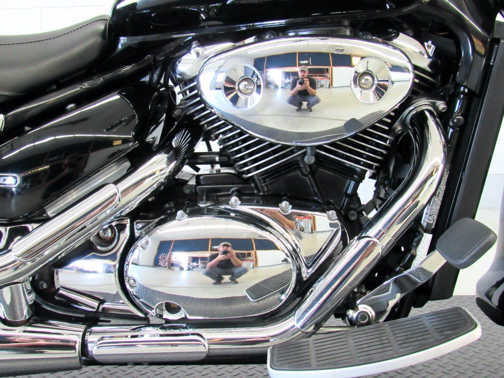 2008 Suzuki Boulevard C50 Black in Fredericksburg, Virginia - Photo 14