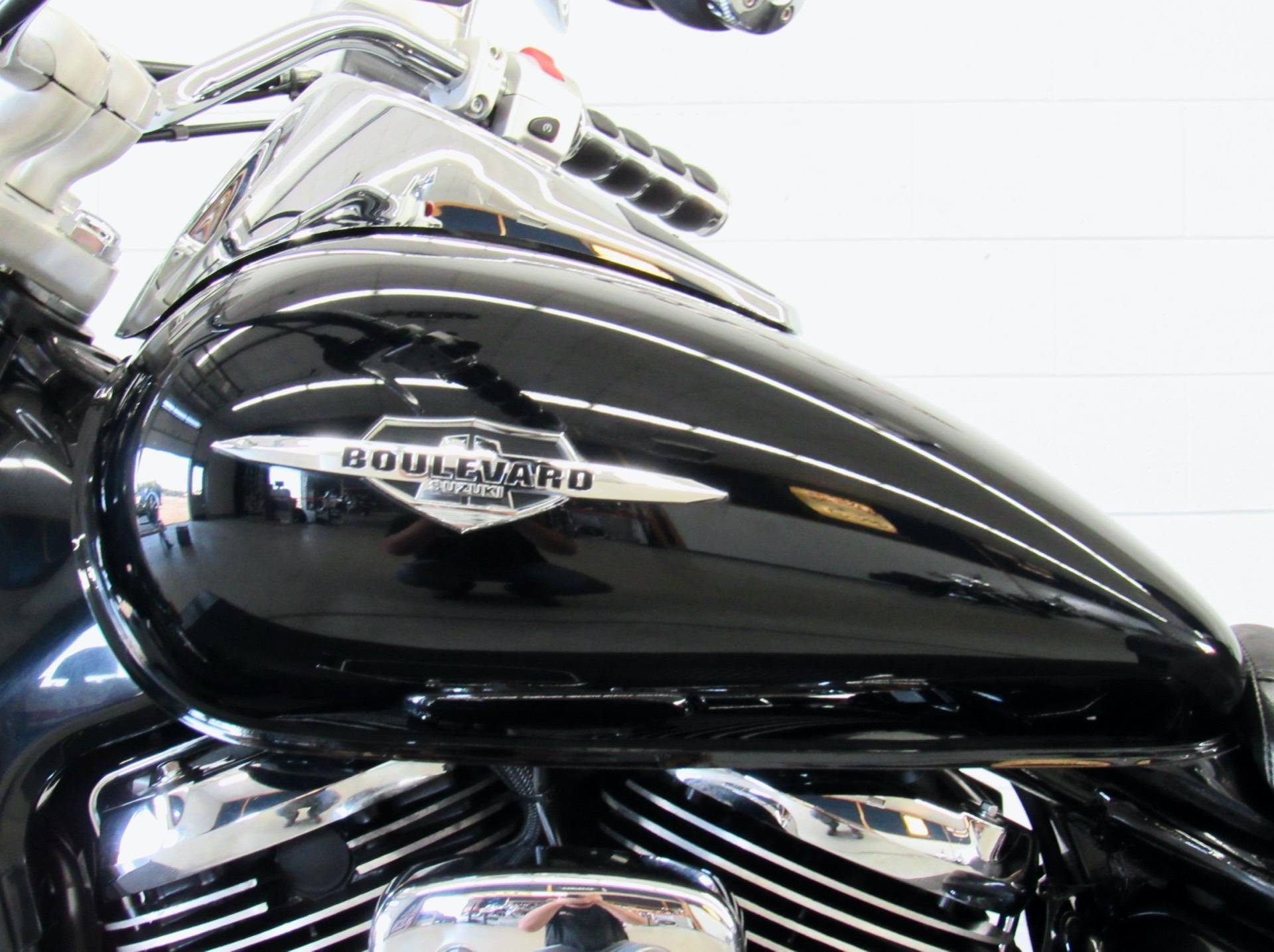 2008 Suzuki Boulevard C50 Black in Fredericksburg, Virginia - Photo 18