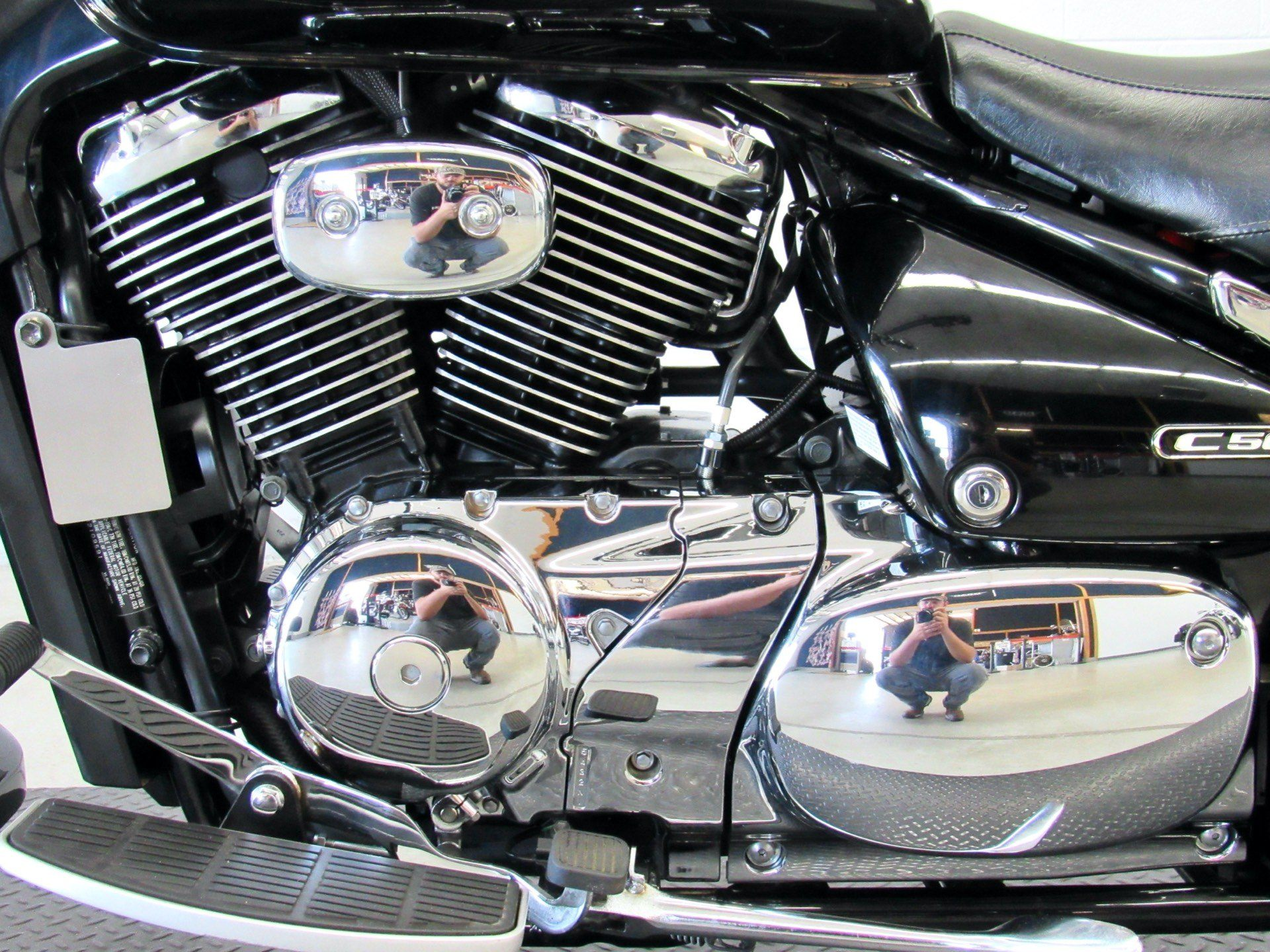 2008 Suzuki Boulevard C50 Black in Fredericksburg, Virginia - Photo 19