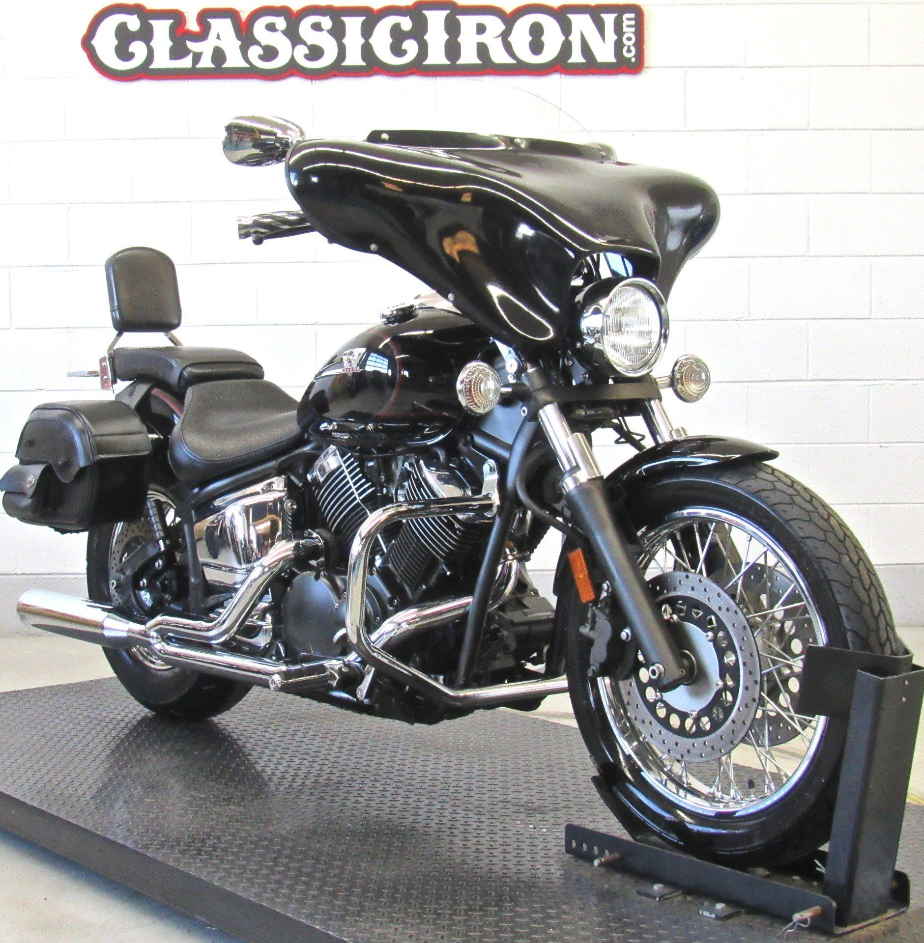 2007 Yamaha V Star® Midnight 1100 Custom in Fredericksburg, Virginia - Photo 2