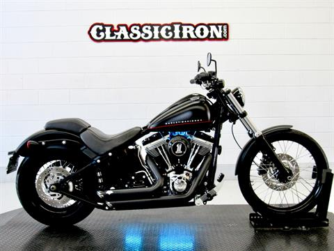 2012 Harley-Davidson Softail® Blackline® in Fredericksburg, Virginia - Photo 2
