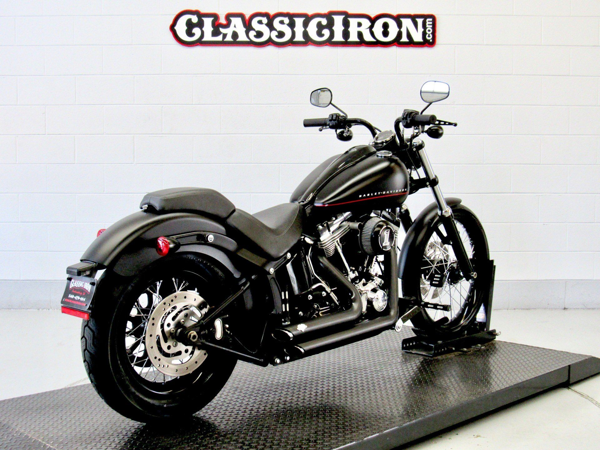 2012 Harley-Davidson Softail® Blackline® in Fredericksburg, Virginia - Photo 7