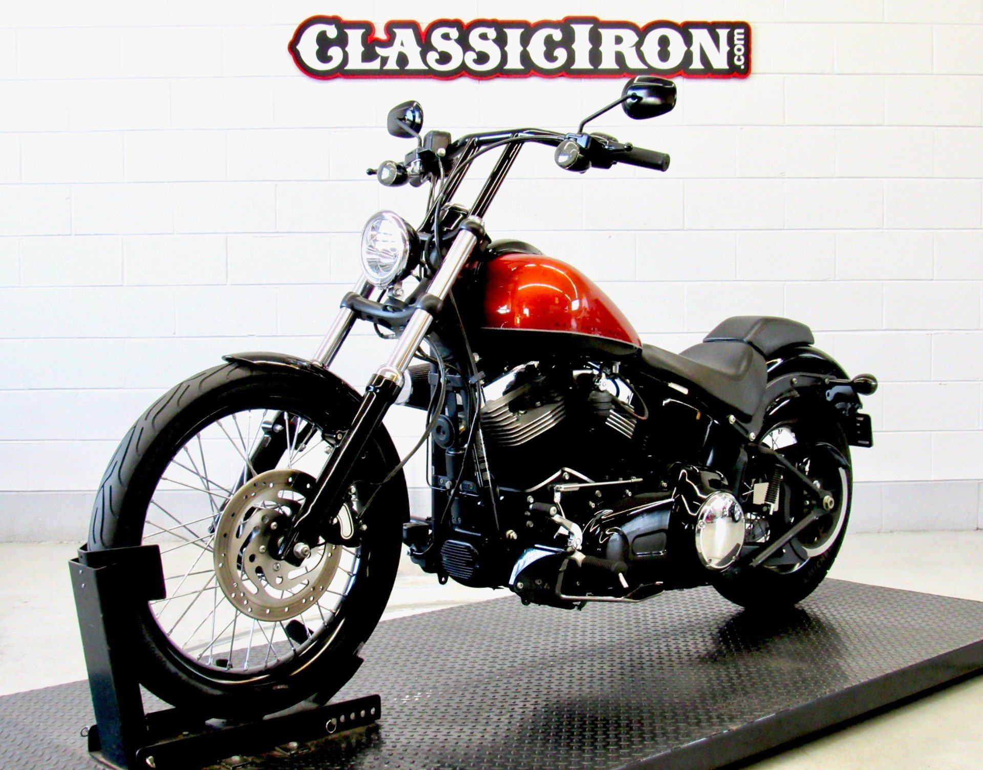 2011 Harley-Davidson Softail® Blackline™ in Fredericksburg, Virginia - Photo 3