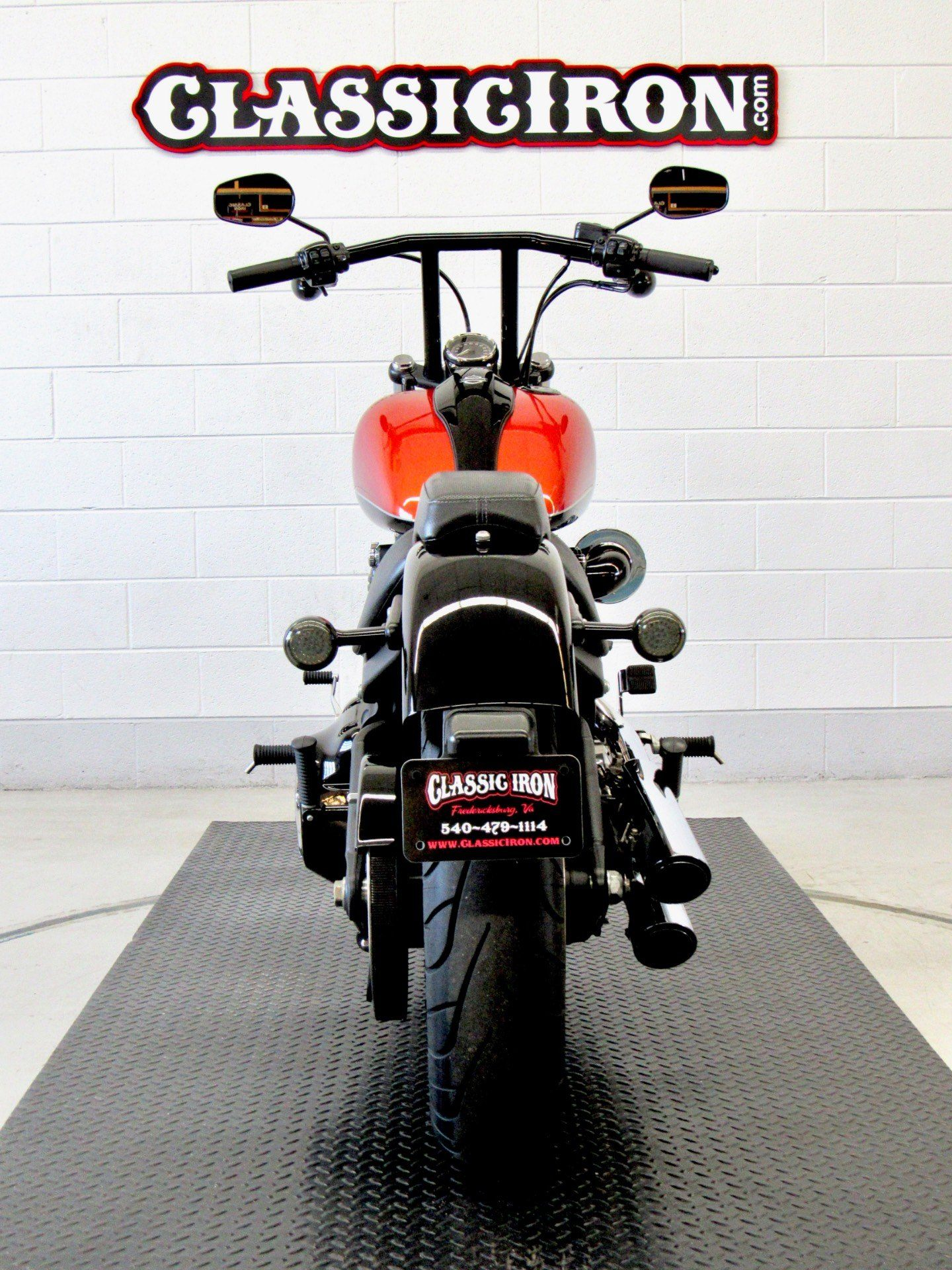 2011 Harley-Davidson Softail® Blackline™ in Fredericksburg, Virginia - Photo 9