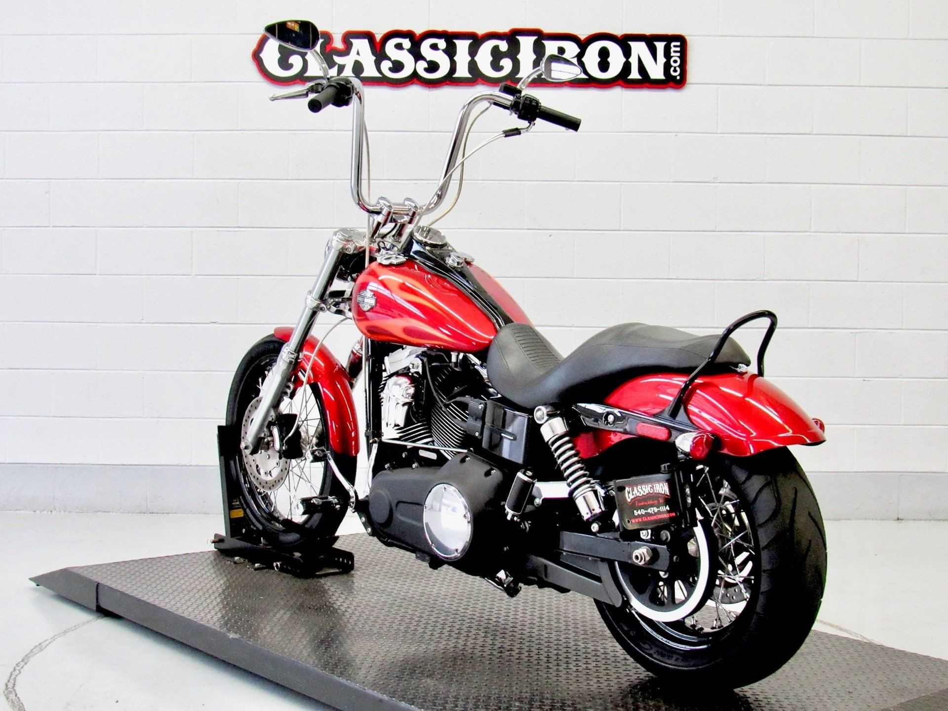 2013 Harley-Davidson Dyna® Wide Glide® in Fredericksburg, Virginia - Photo 6