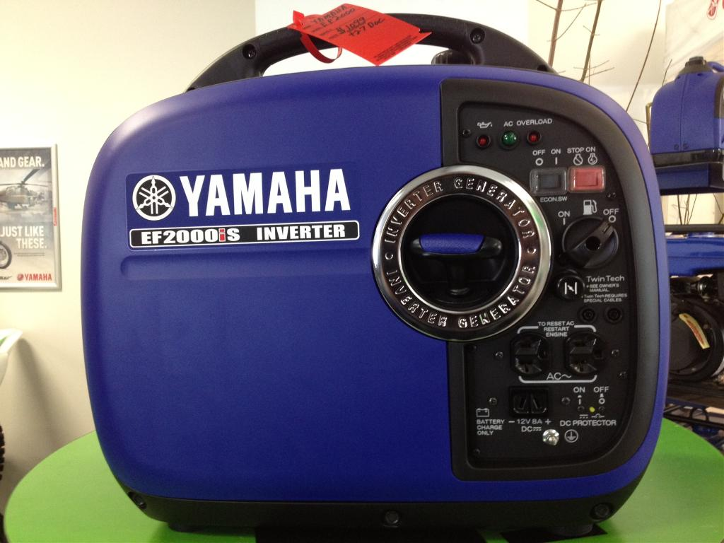 2012 Yamaha Inverter EF2000iS in Augusta, Maine