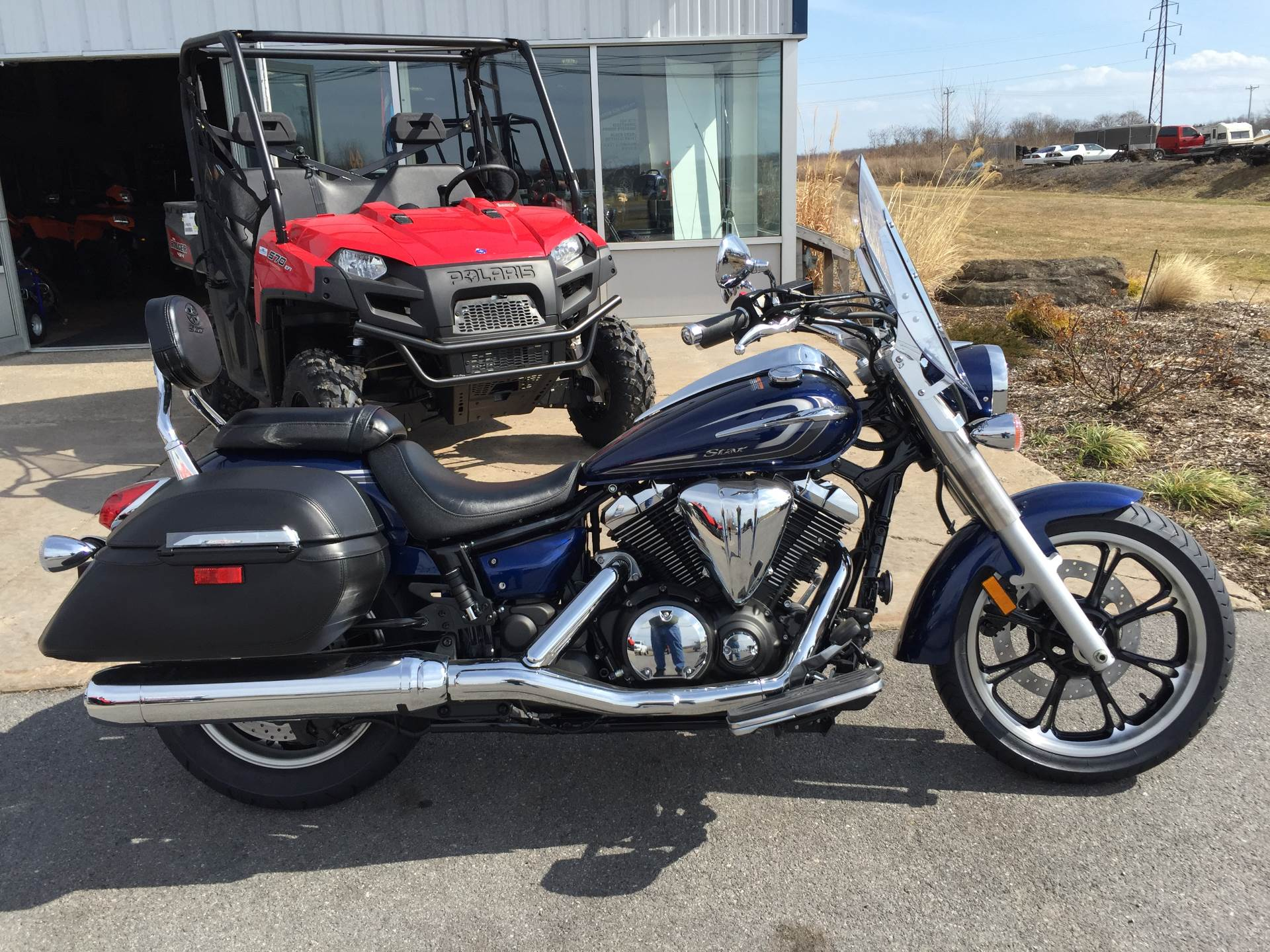 2015 Yamaha V Star 950 Tourer in Brewerton, New York