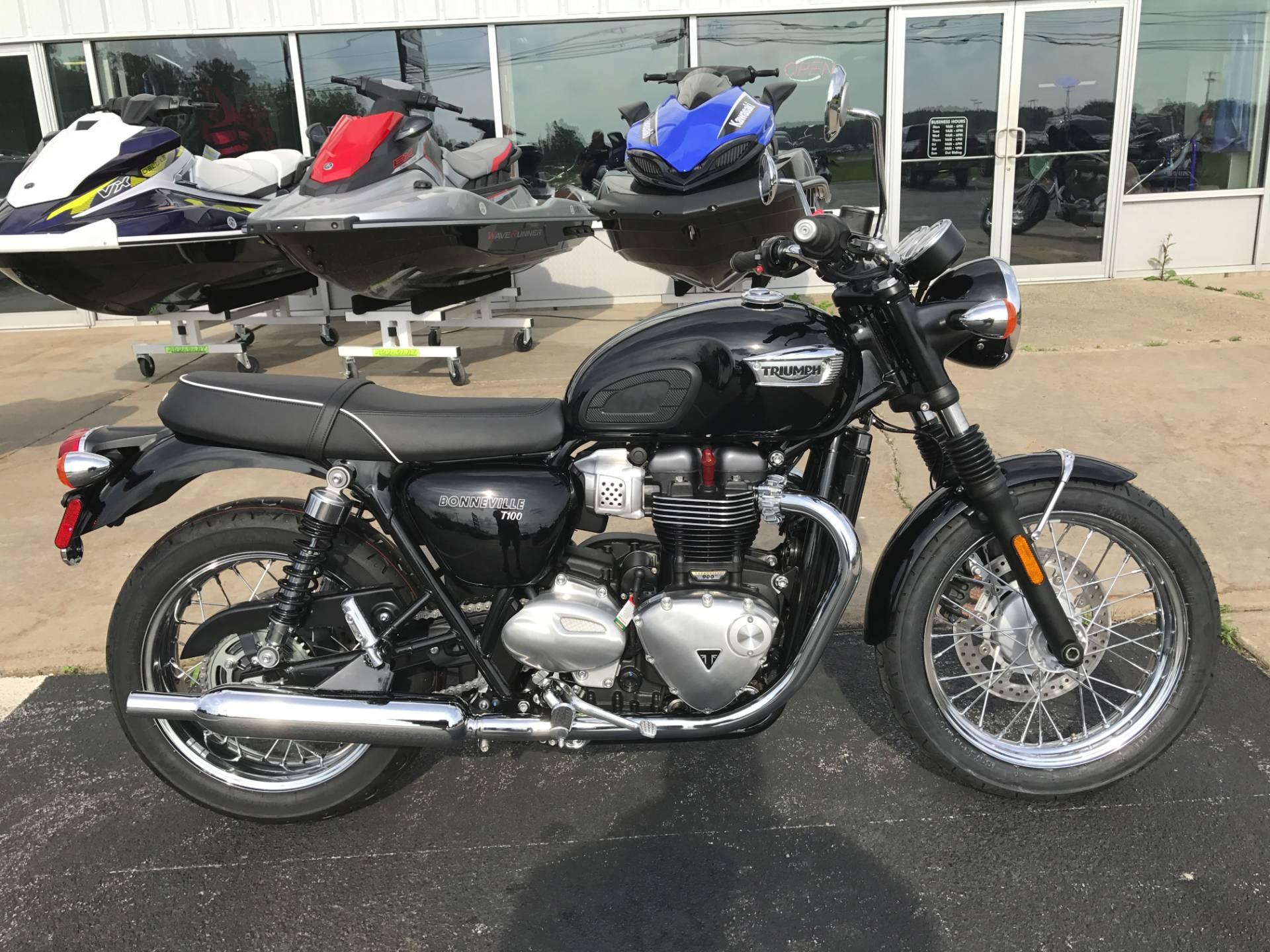 2017 Triumph Bonneville T100 for sale 112