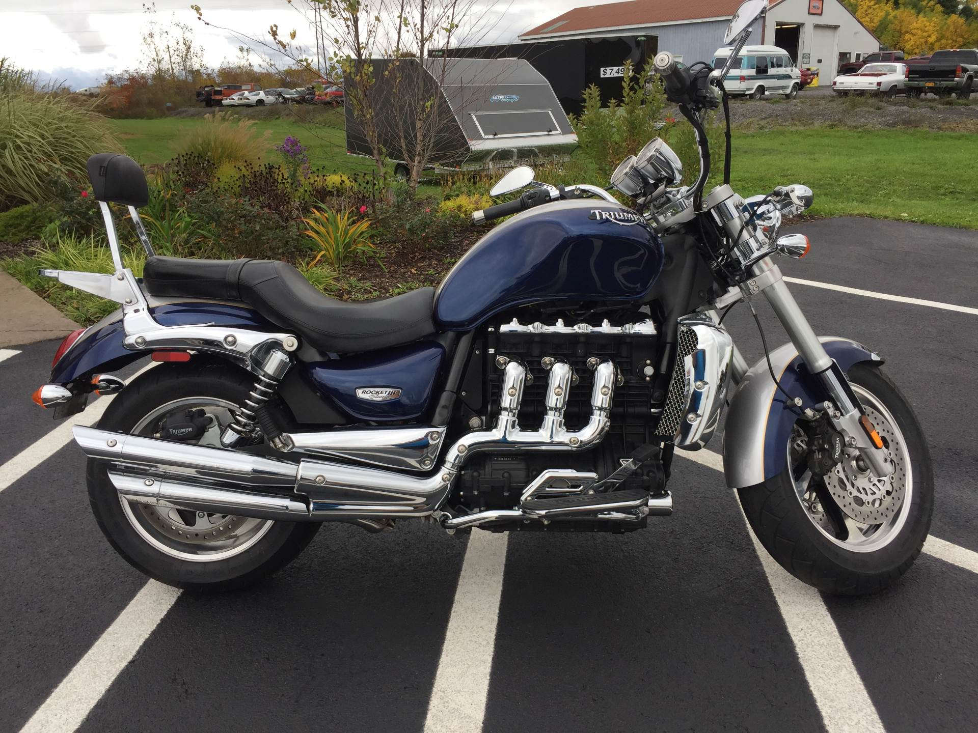2009 Triumph Rocket III Classic in Brewerton, New York