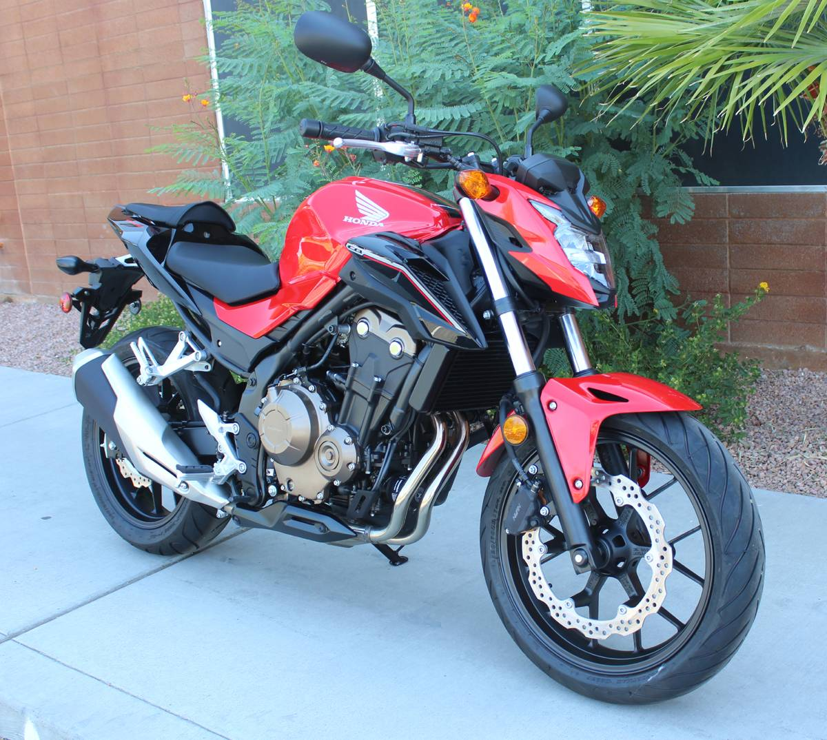 new 2017 honda cb500f motorcycles in kingman az stock. Black Bedroom Furniture Sets. Home Design Ideas