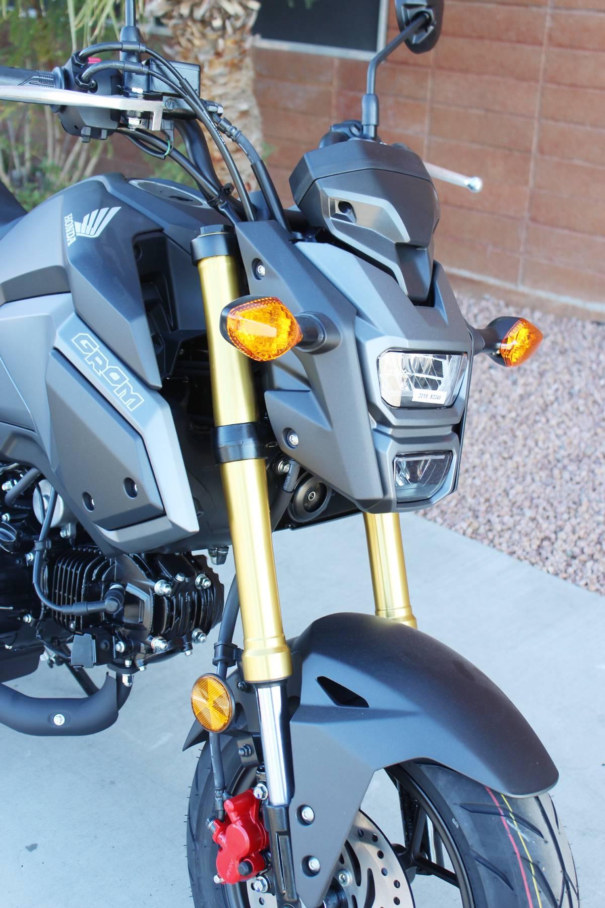 New 2018 Honda Grom Motorcycles In Kingman Az Stock