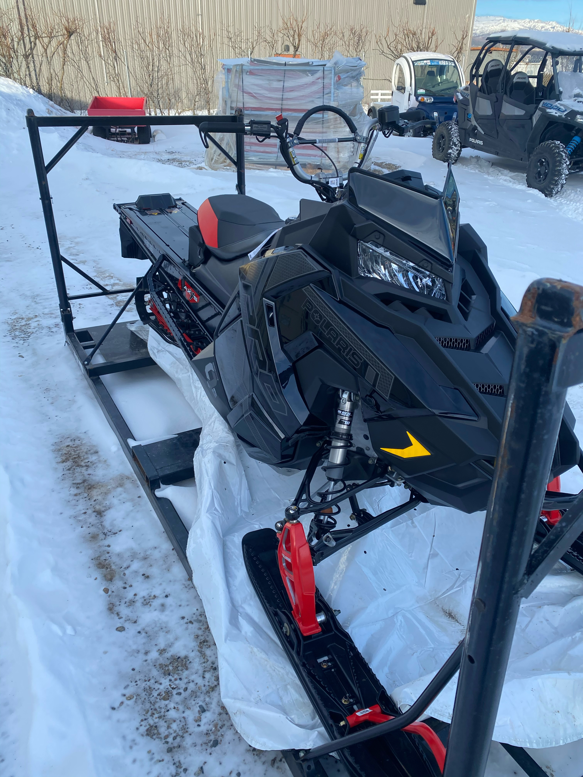 2021 Polaris 850 PRO RMK QD2 163 3 in. SC in Healy, Alaska - Photo 1