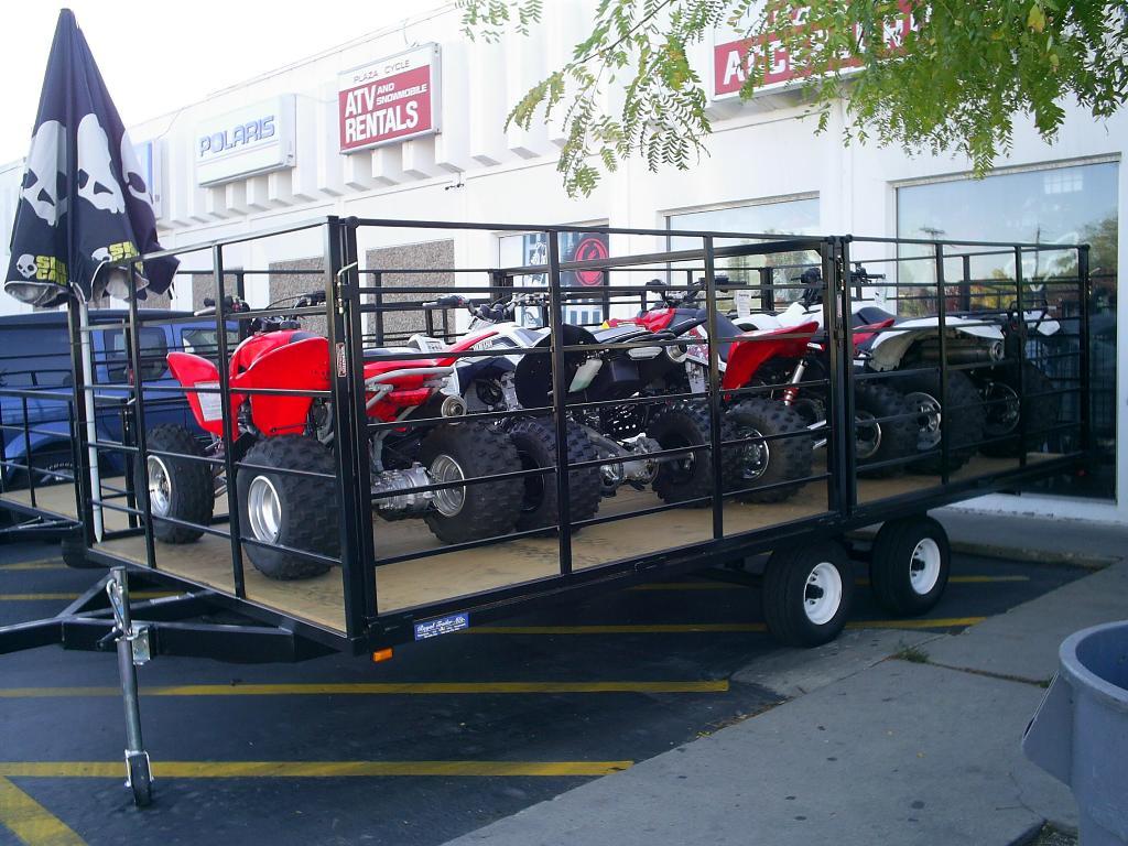 1900 Royal Trailers ATV 400 FD in Salt Lake City, Utah