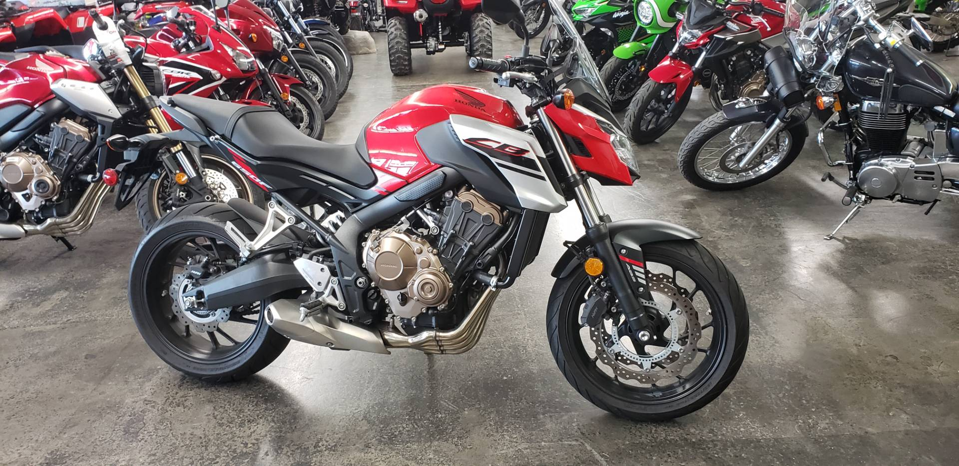 2018 Honda CB650F in Fort Pierce, Florida - Photo 1