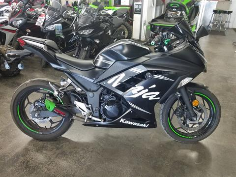 2017 Kawasaki Ninja 300 ABS Winter Test Edition in Fort Pierce, Florida