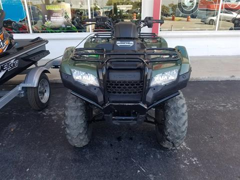 2016 Honda FourTrax Rancher ES in Fort Pierce, Florida