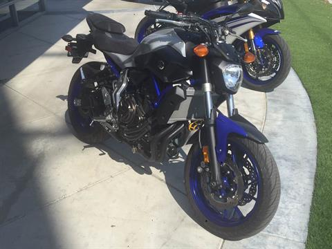 2016 Yamaha FZ-07 in Orange, California