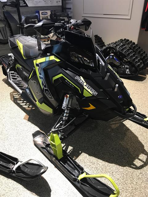 2018 Polaris 800 RUSH PRO-S SnowCheck Select in Dansville, New York