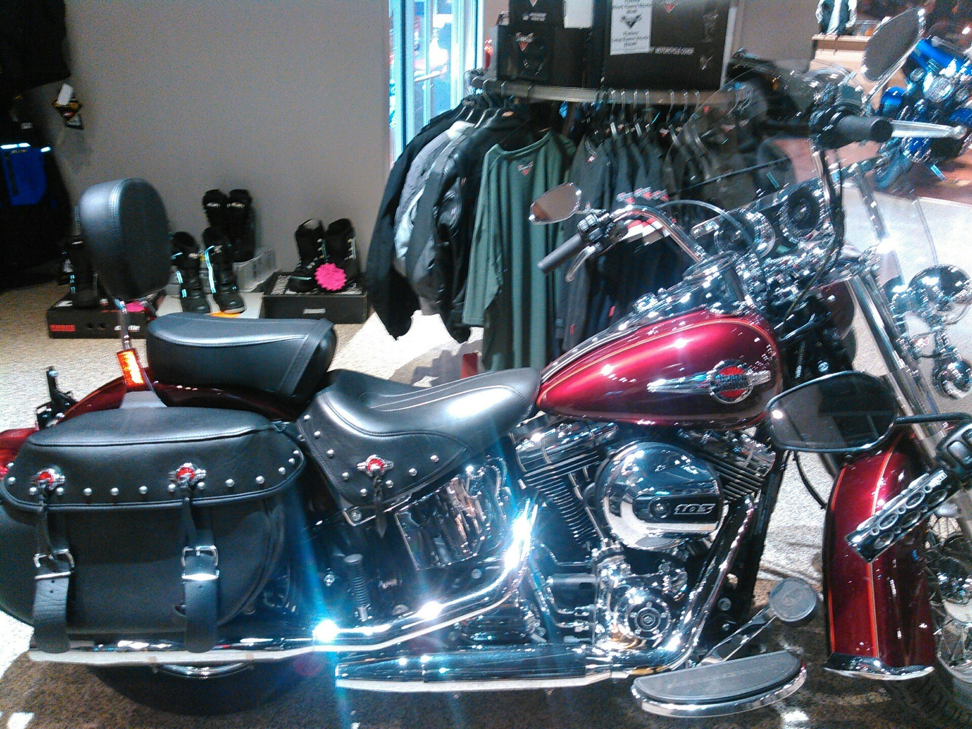 Used 2017 Harley Davidson Heritage Softail Classic Motorcycles In Dansville New York