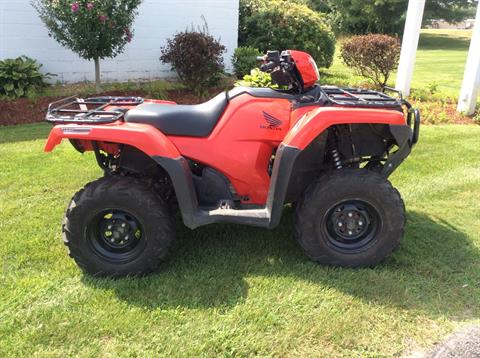 2016 Honda FourTrax Foreman Rubicon 4x4 in Hooksett, New Hampshire