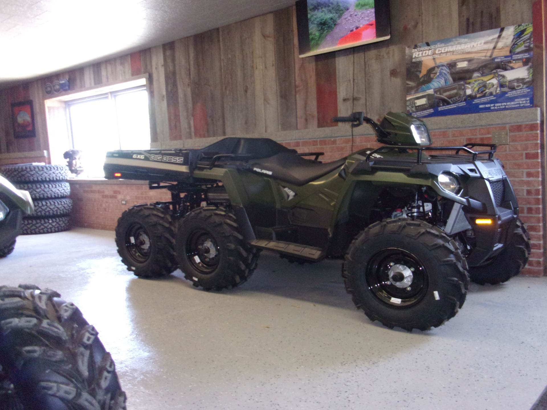 2019 Polaris Sportsman 6x6 570 in Houston, Ohio - Photo 1