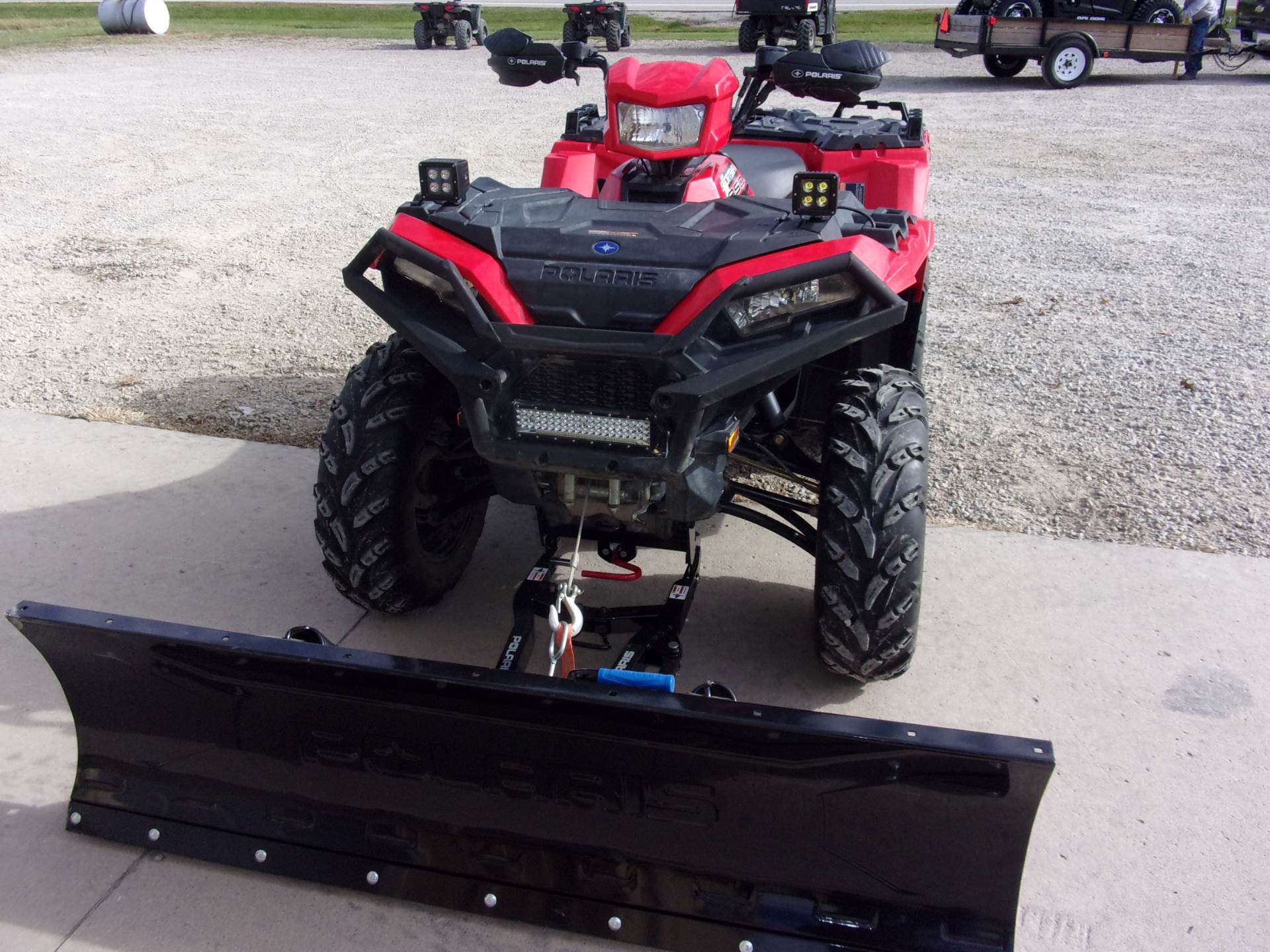 2018 Polaris Sportsman 850 in Houston, Ohio - Photo 2