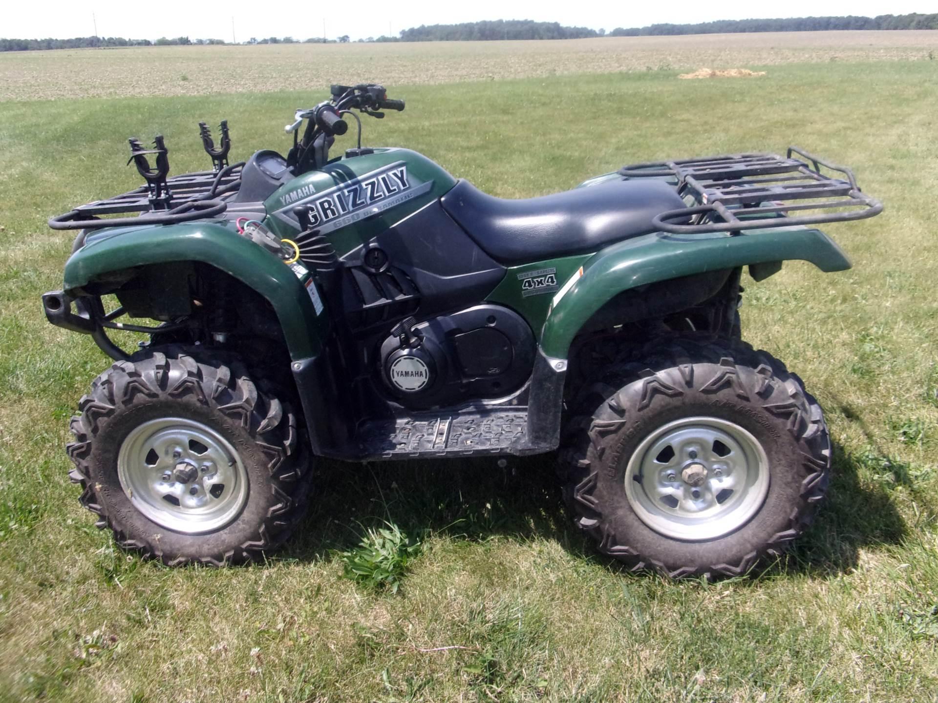 2002 Yamaha Grizzly 660 1