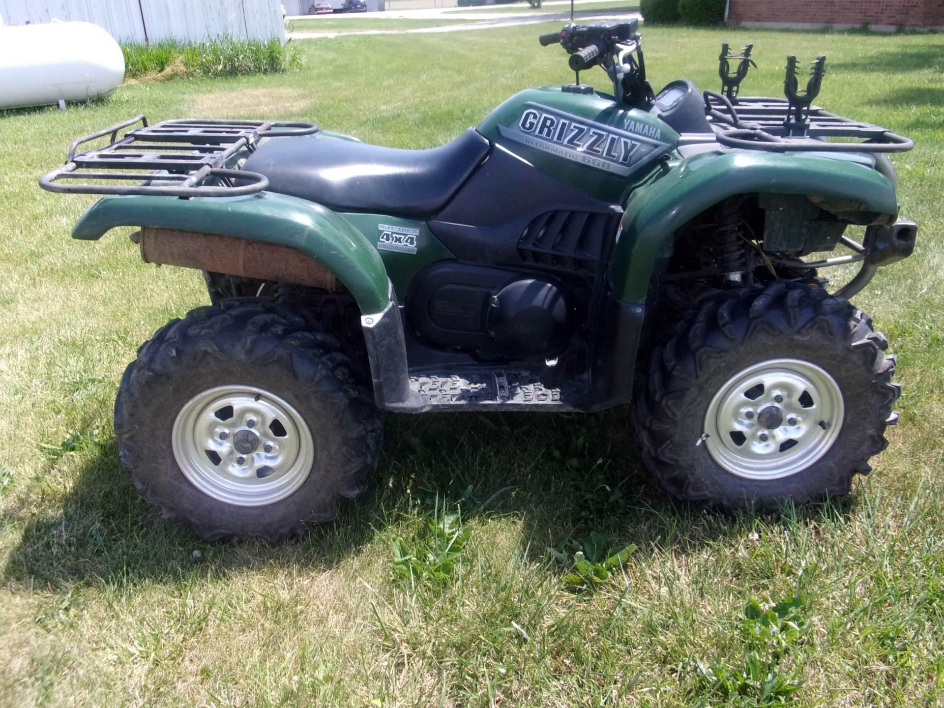 2002 Yamaha Grizzly 660 3