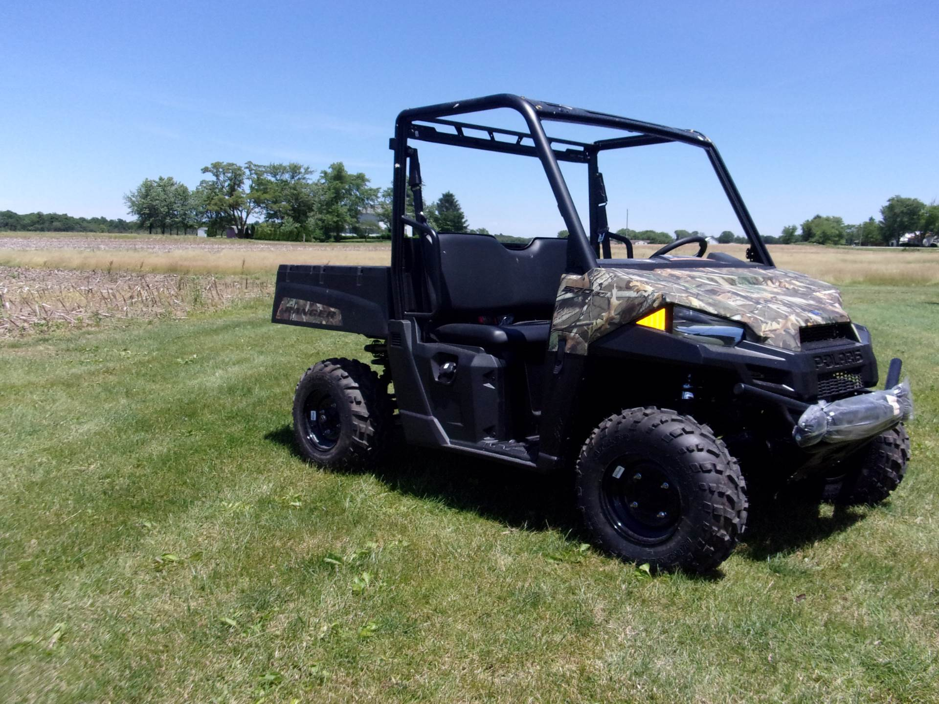 2019 Polaris Ranger 570 Polaris Pursuit Camo in Houston, Ohio - Photo 2