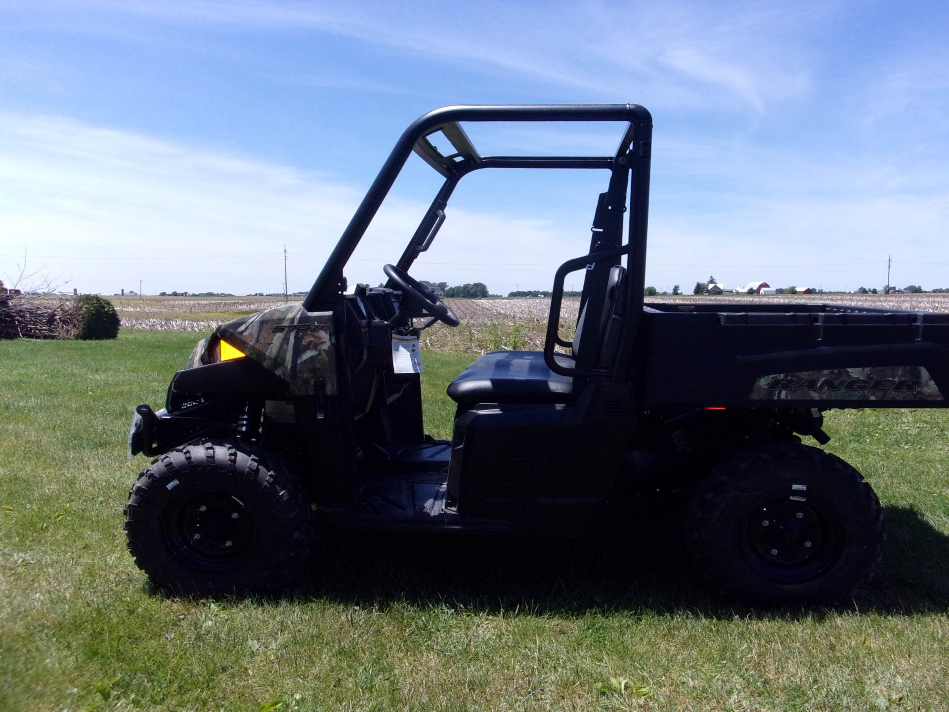 2019 Polaris Ranger 570 Polaris Pursuit Camo in Houston, Ohio - Photo 4